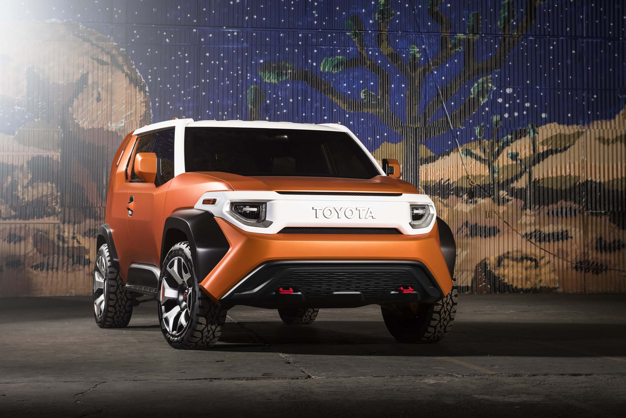Toyota FT 4X Concept Front Three Quarters