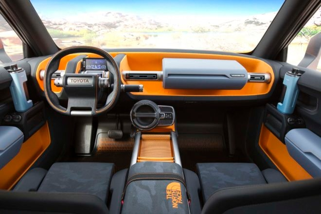 Toyota FT 4X Concept interior 02
