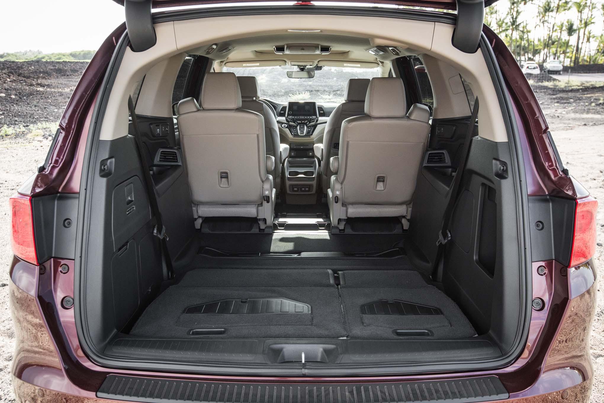 2018 Honda Odyssey Rear Cargo Space Motor Trend En Espa 241 Ol