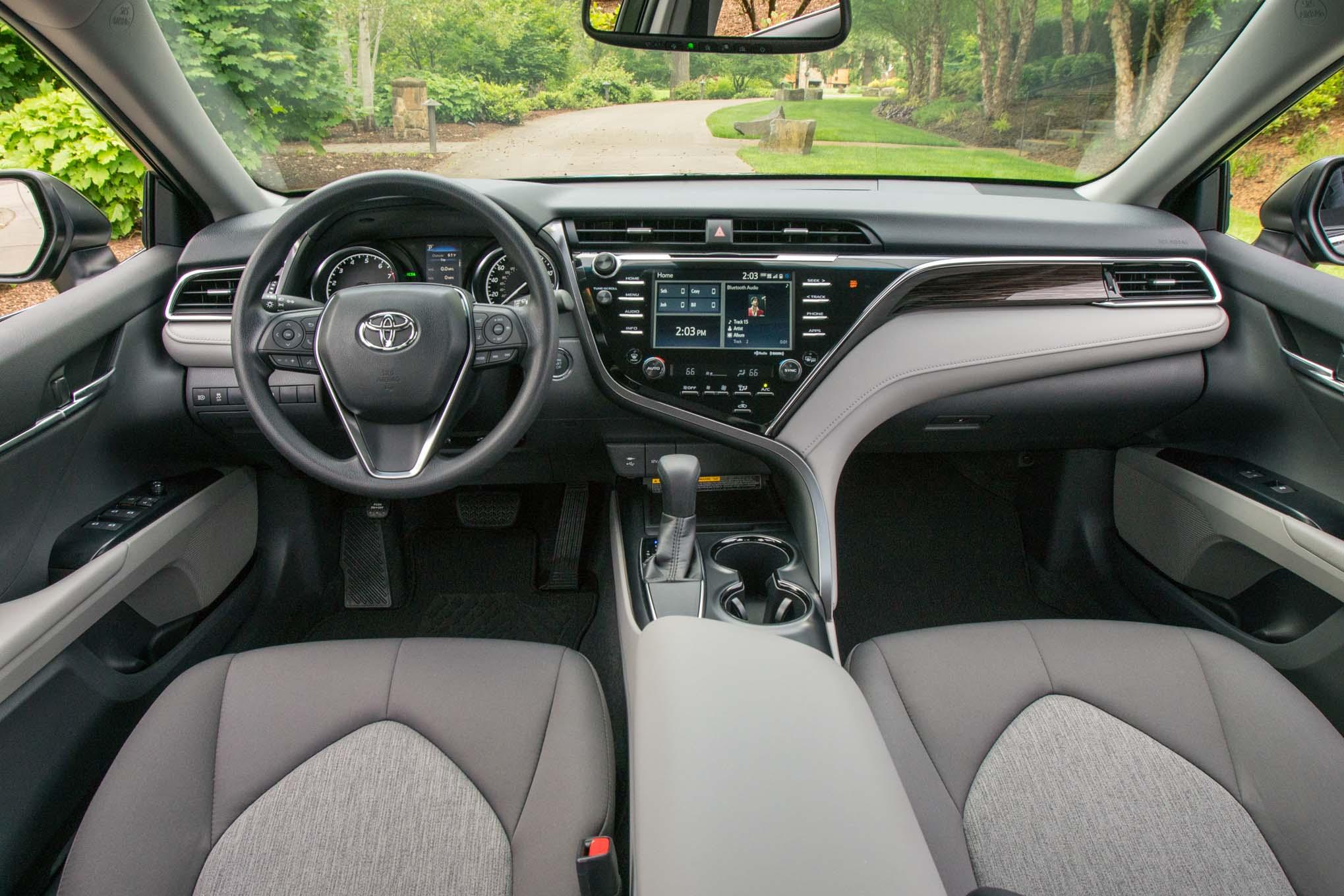 2018 Toyota Camry Le Interior Motor Trend En Espa Ol