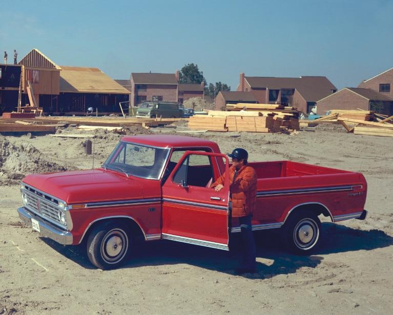 1975 Ford F 150 Pickup Truck Neg CN9011 089