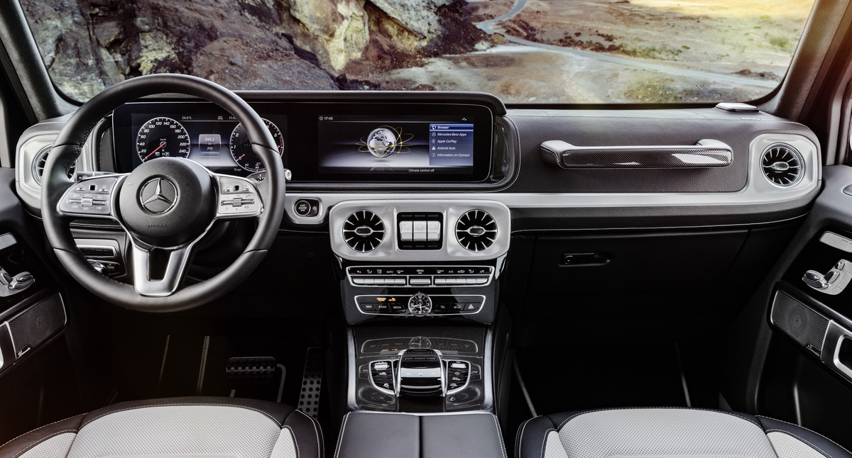 Mercedes Benz Clase G Interior 1