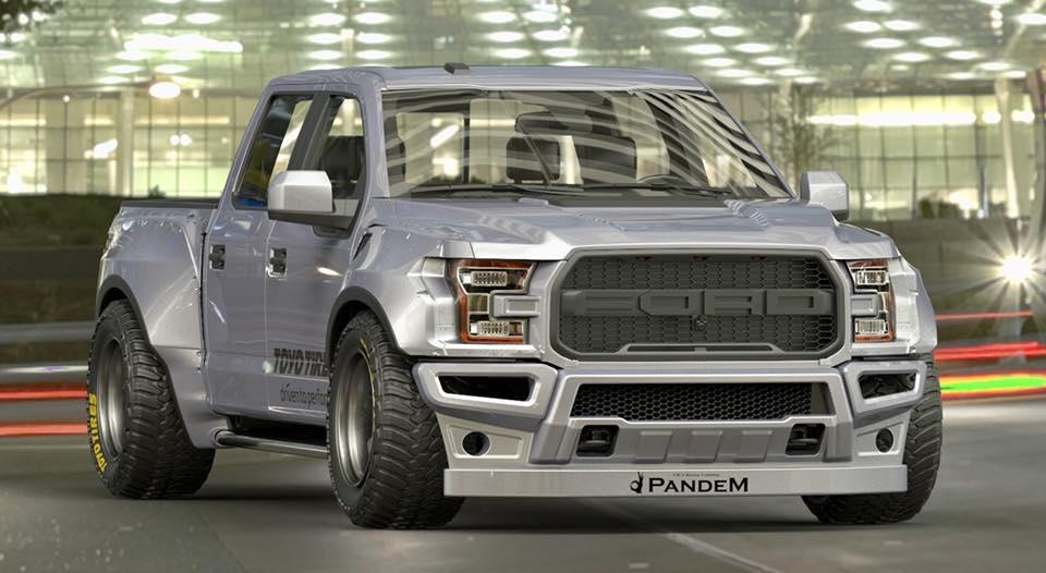 Ford Raptor Pandem RocketBunny 1