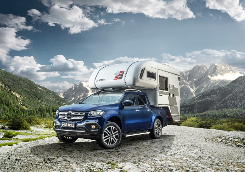 Mercedes Benz Clase X Campers 6