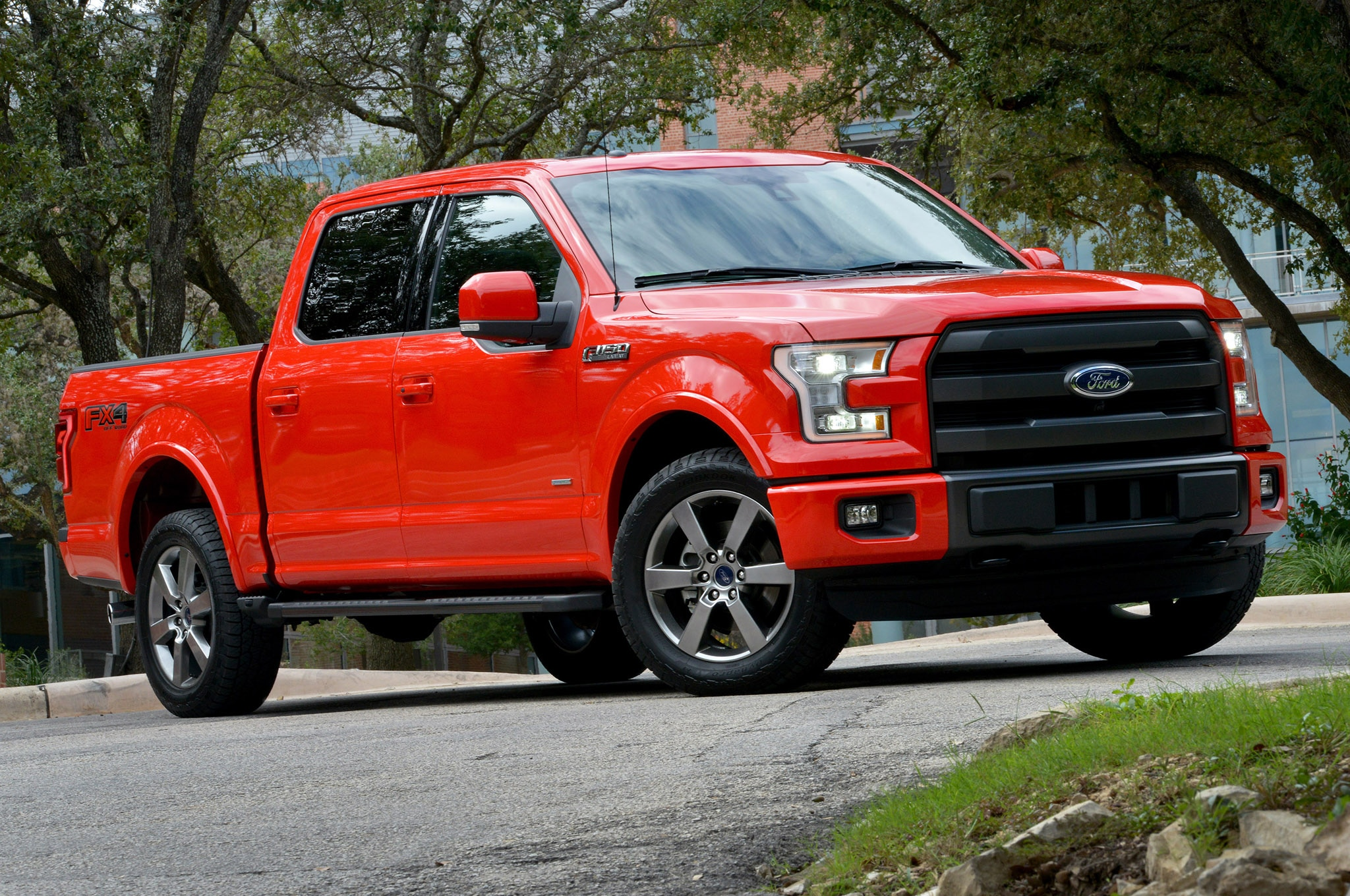 2015 Ford F 150 07 Front Three Quarter1