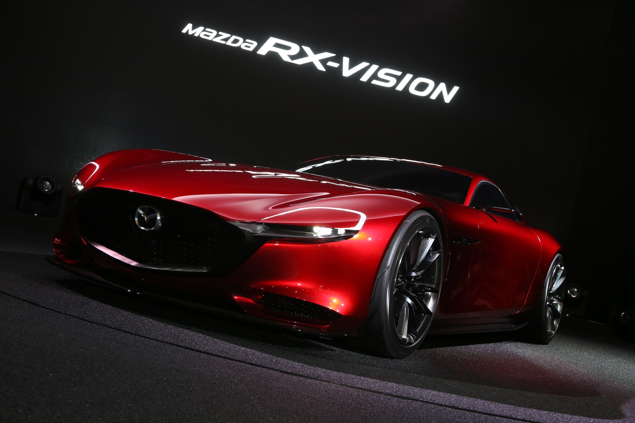 Mazda RX Vision Concept Front Three Quarter