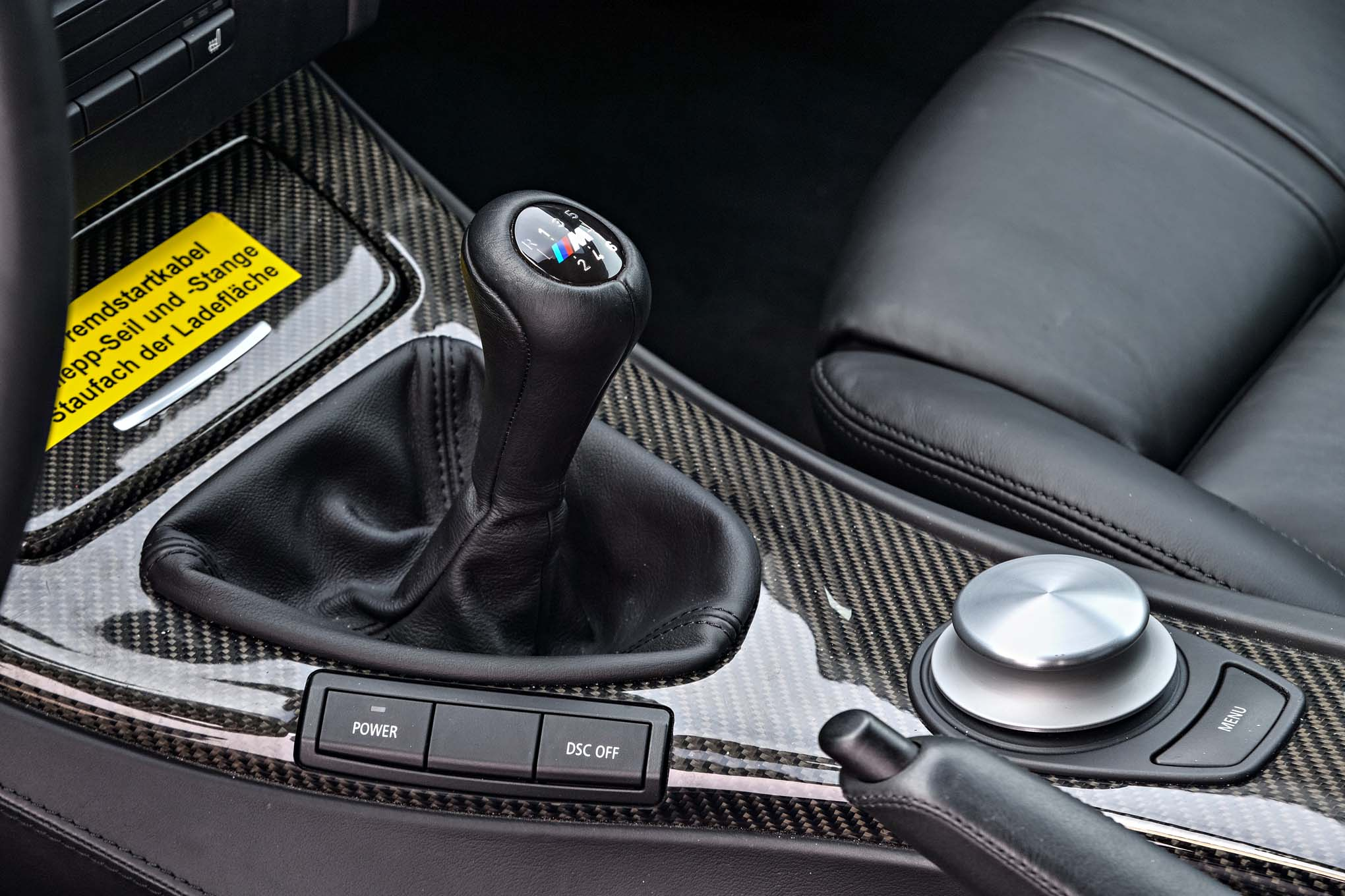 2011 BMW M3 Pickup Concept center console gear shifter - Motor Trend ...