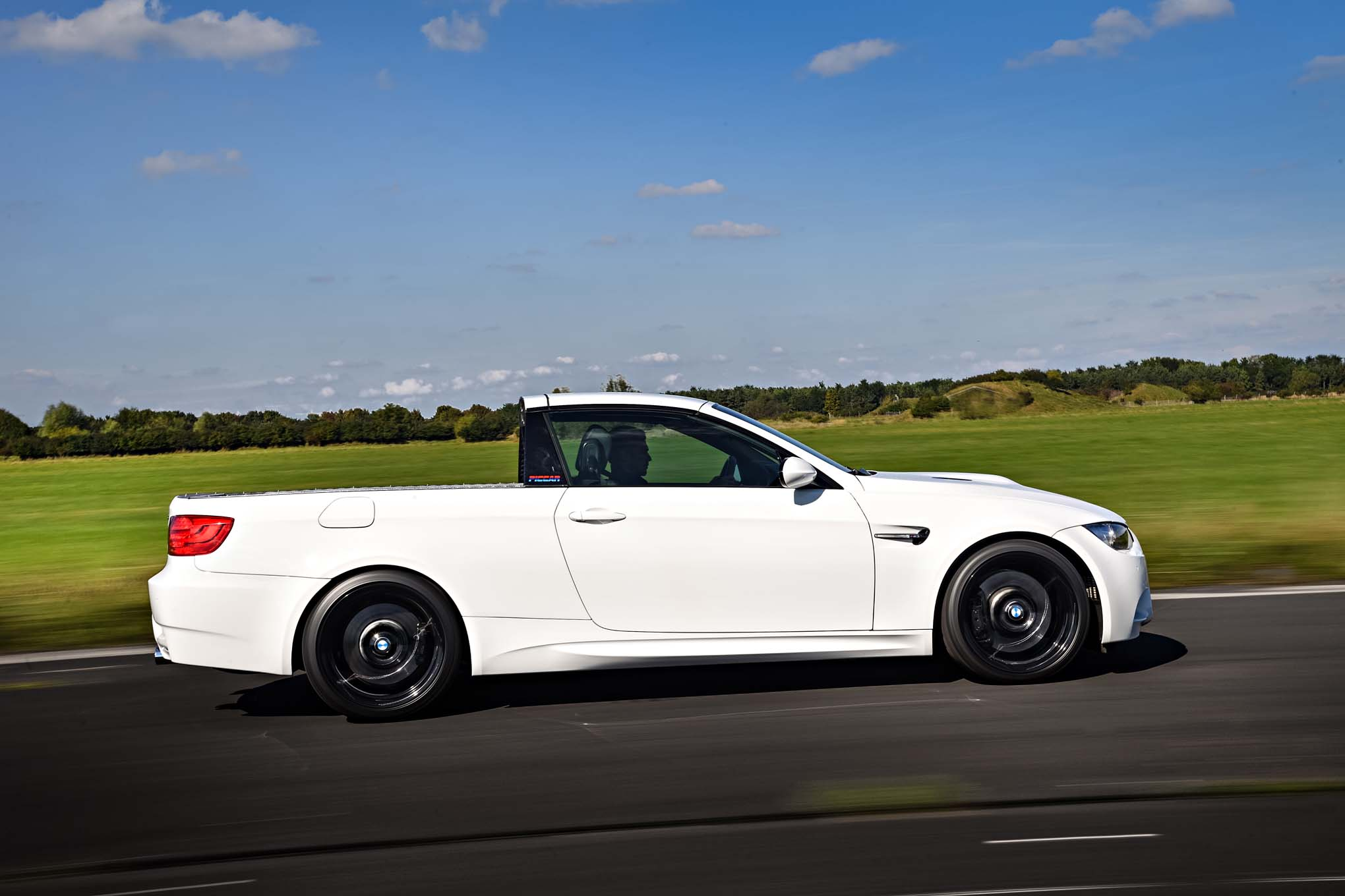 2011 BMW M3 Pickup Concept Side In Motion