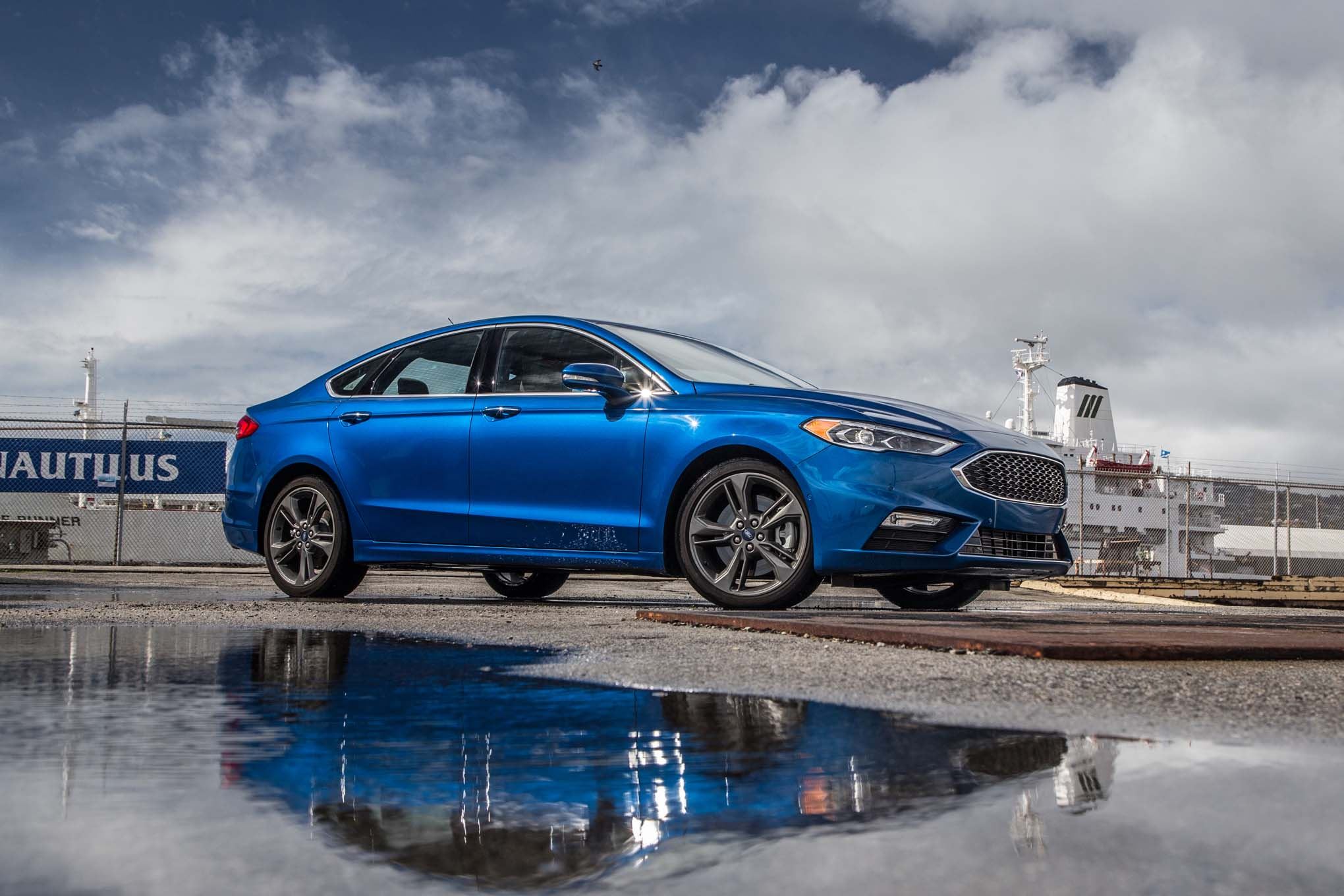 2017 Ford Fusion Sport Front Three Quarters