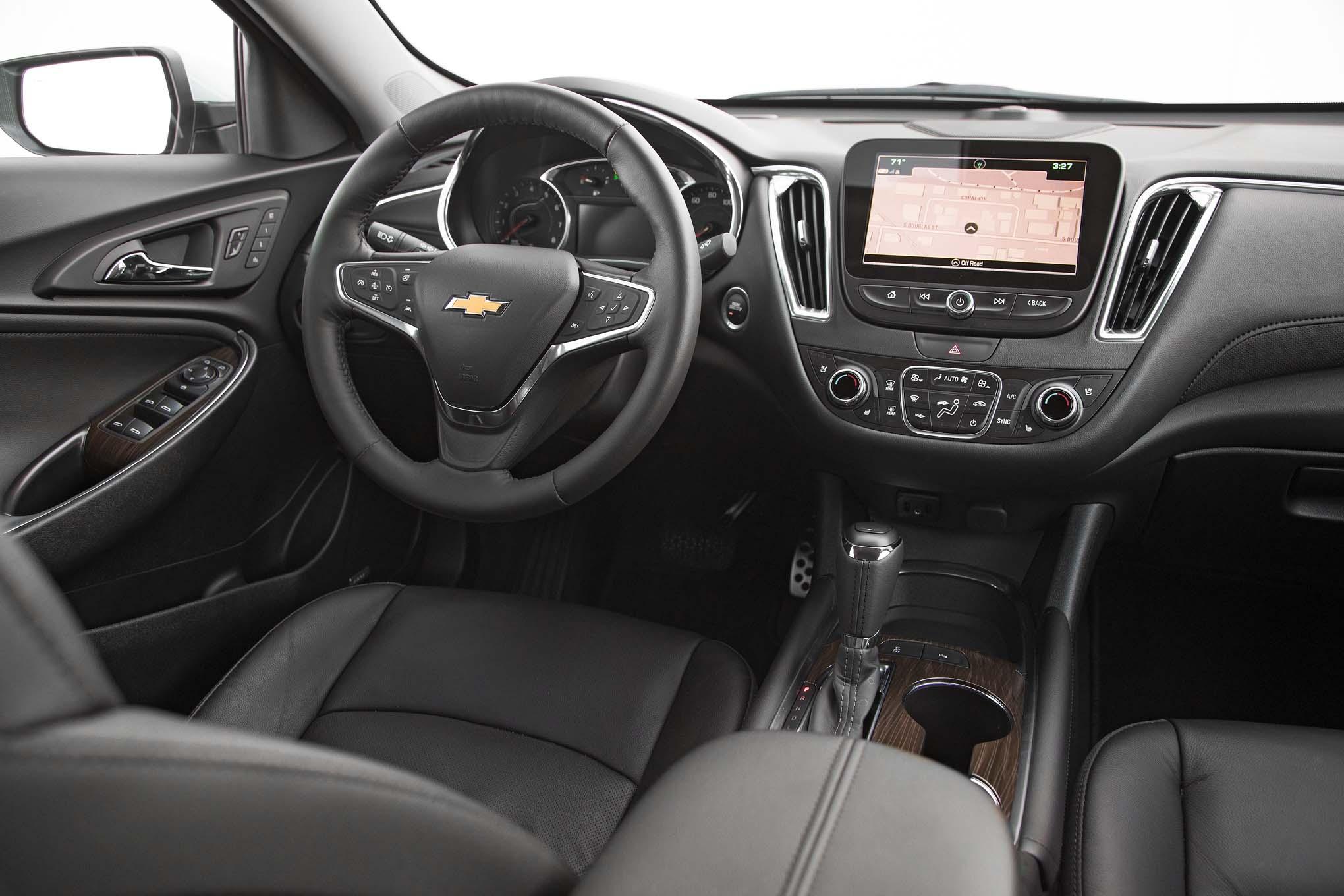 Chevrolet Malibu 2.0T Premier 2017: Primera Prueba - Motor ...