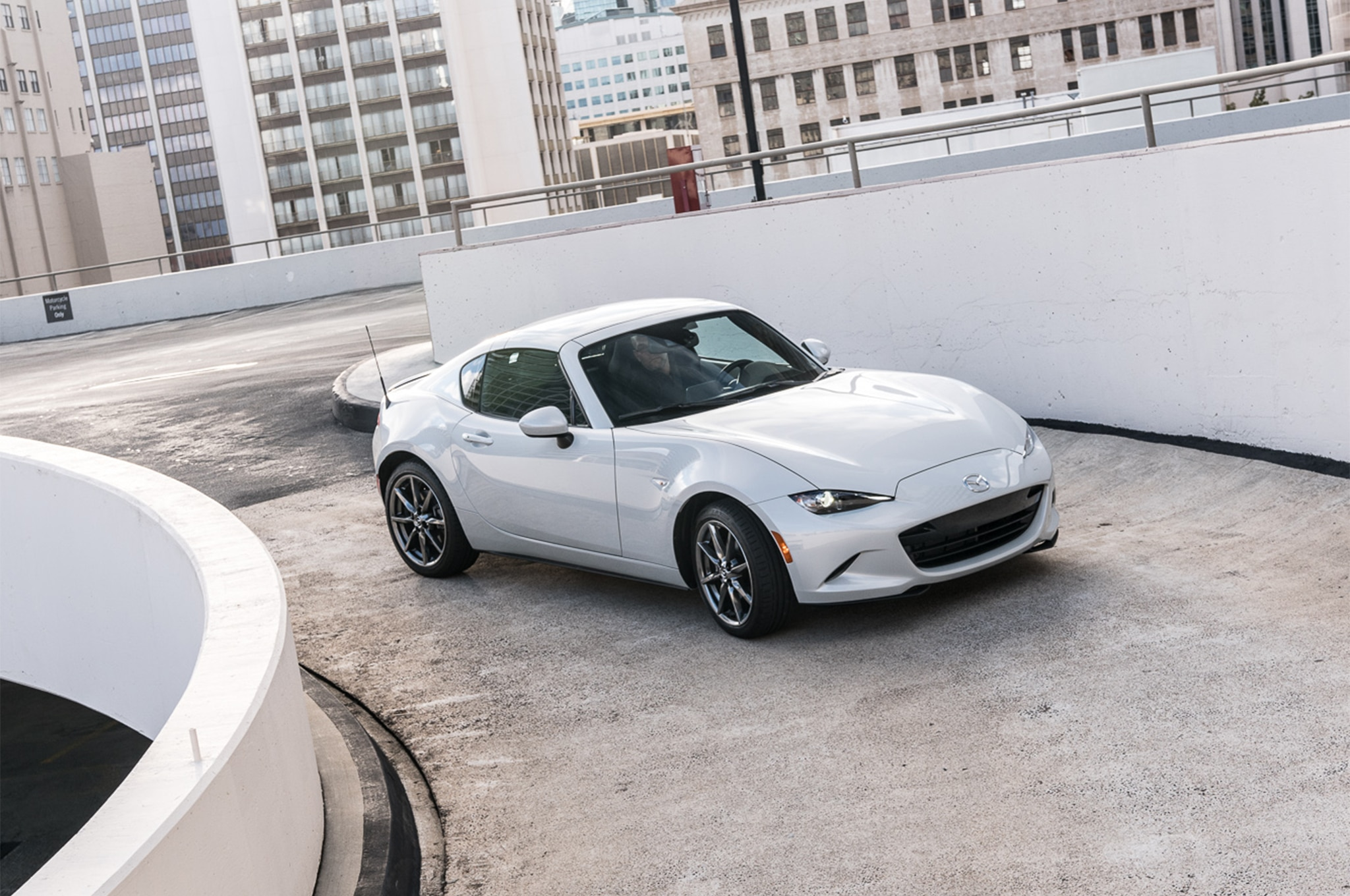 2017 Mazda MX 5 Miata RF front three quarter static