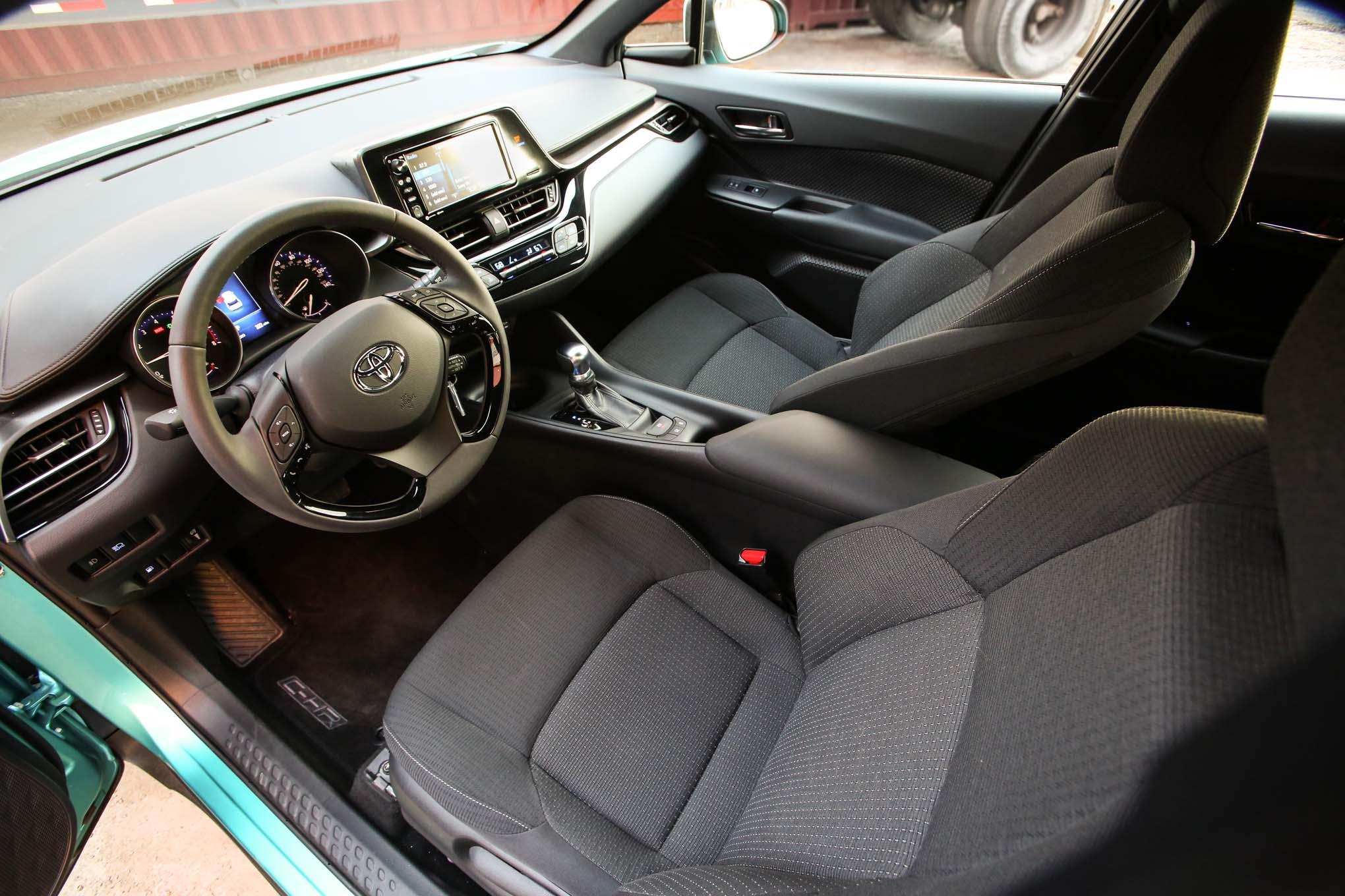 2018 Toyota C HR interior seats - Motor Trend en Español