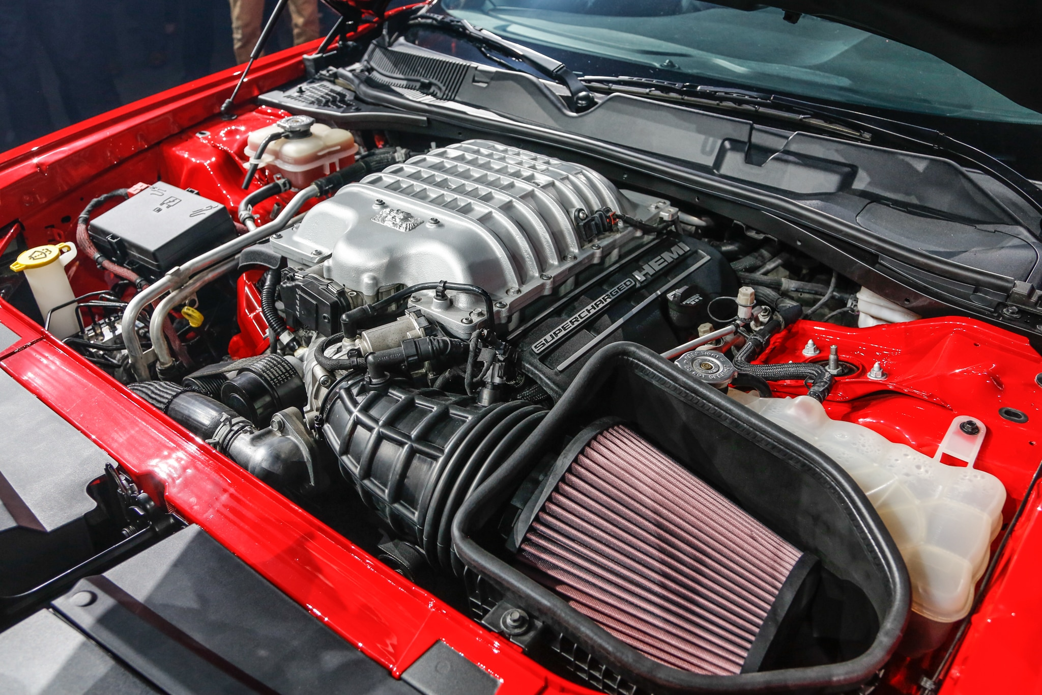 2018 Dodge Challenger Srt Demon Engine 02 1 Motor Trend