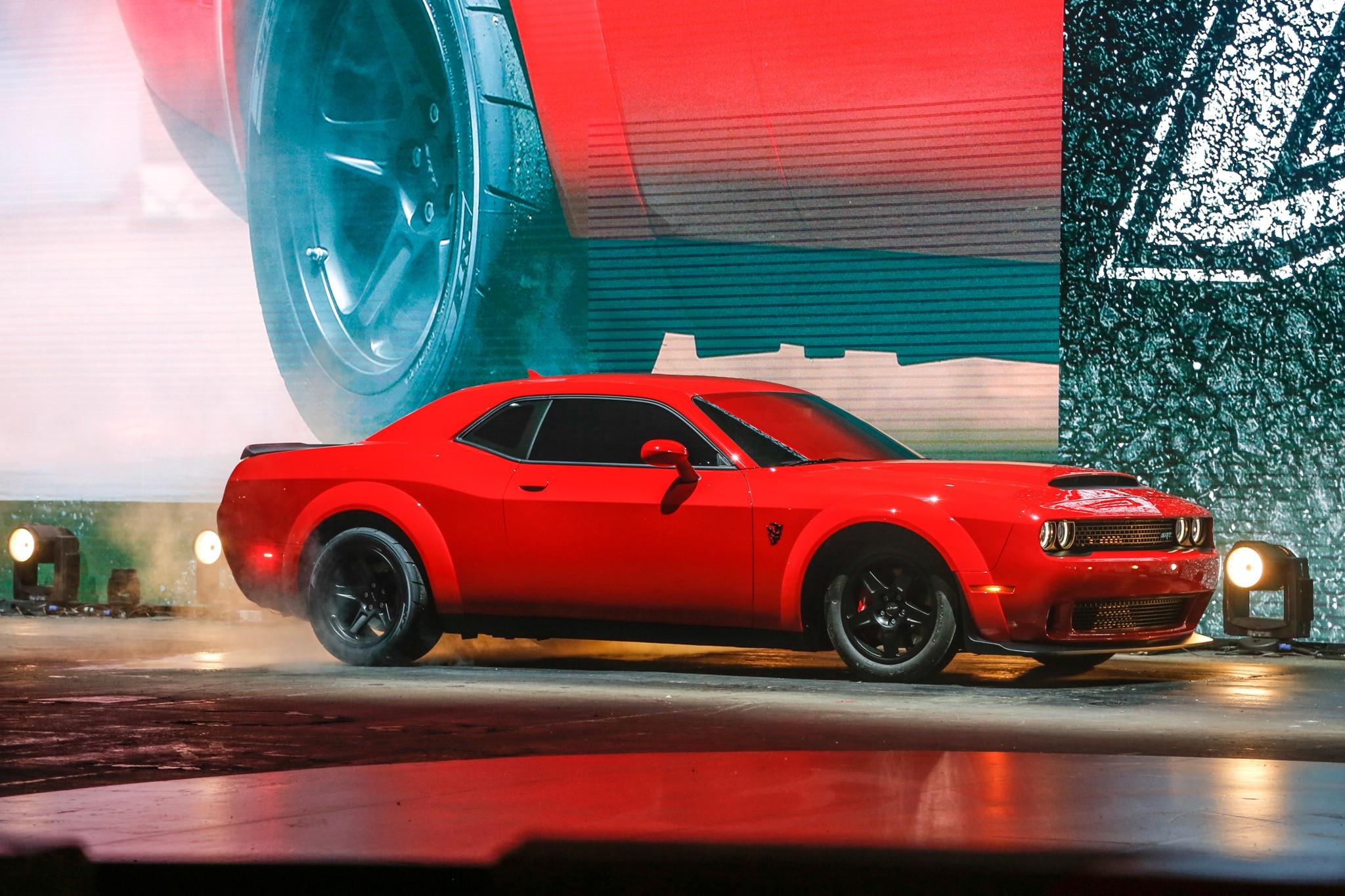 2018 Dodge Challenger SRT Demon Front Side 02