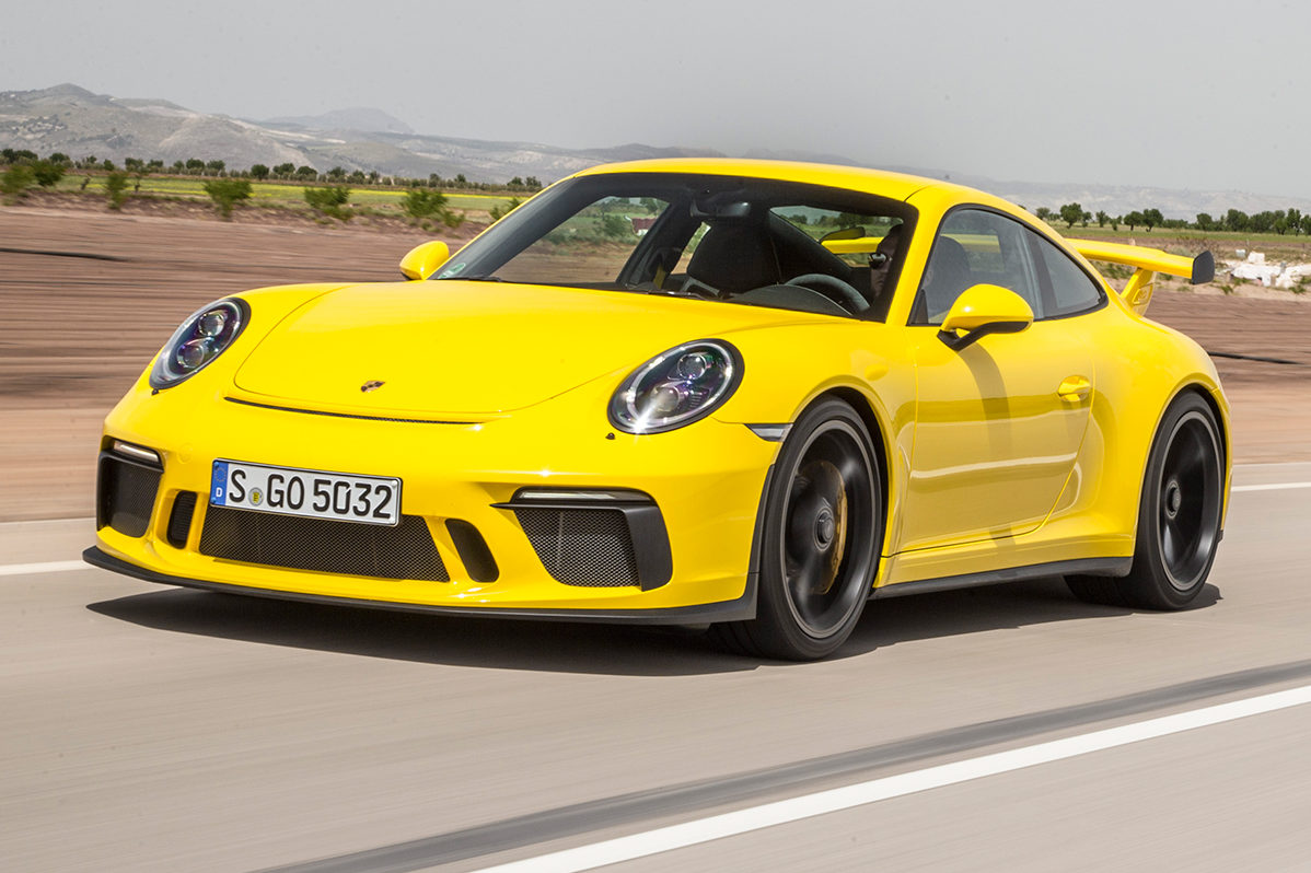 2018 Porsche 911 GT3 Front Three Quarter In Motion 21 E1493739939385