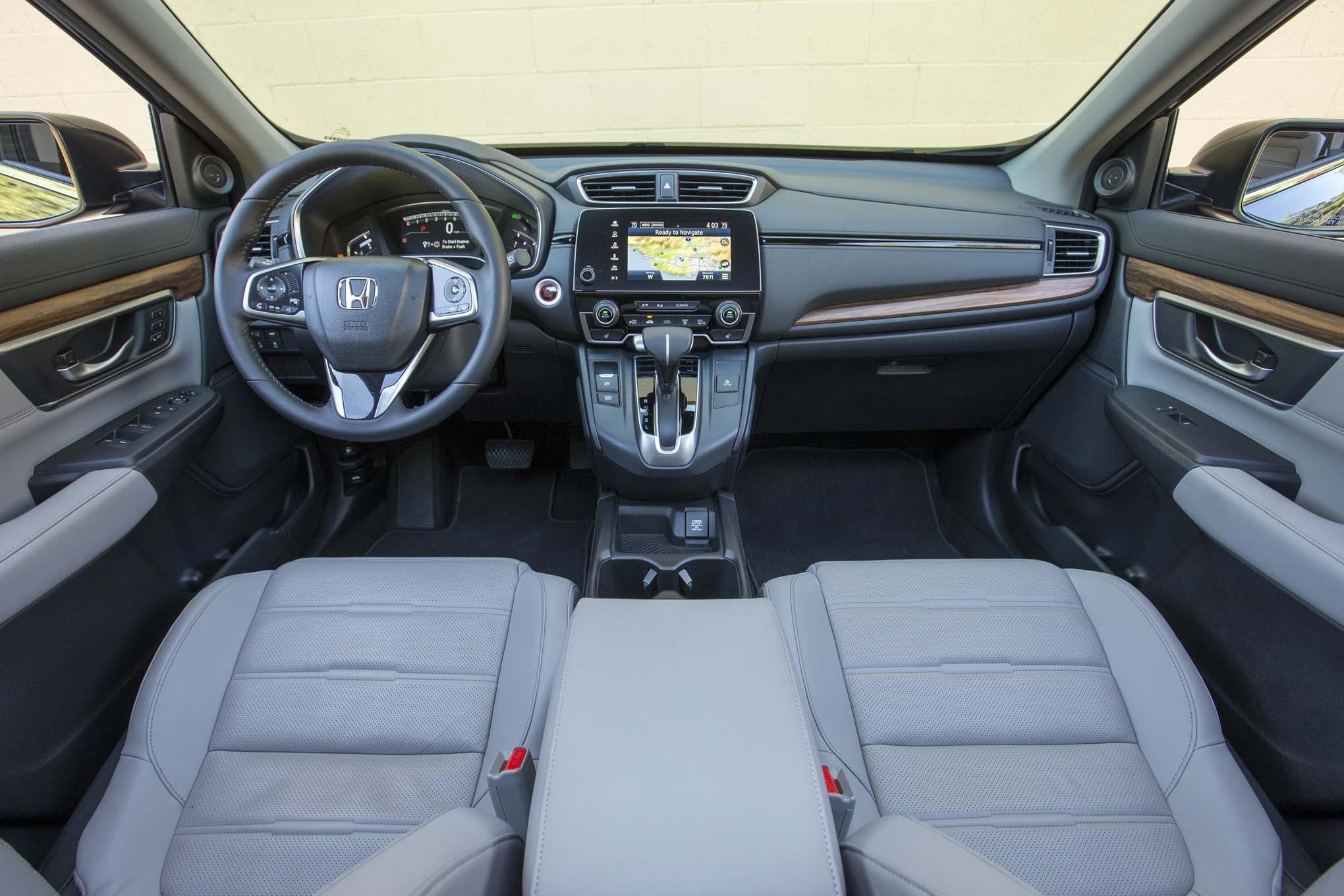 Comparativa Honda Cr V 2017 Vs Mazda Cx 5 2017 Motor