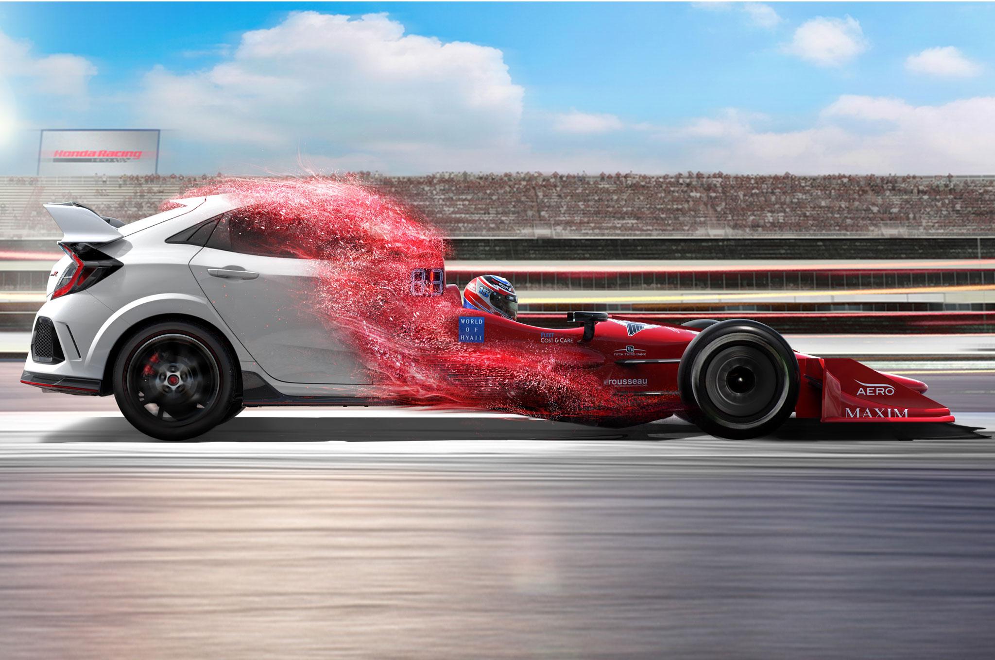 Honda Civic Type R Ad