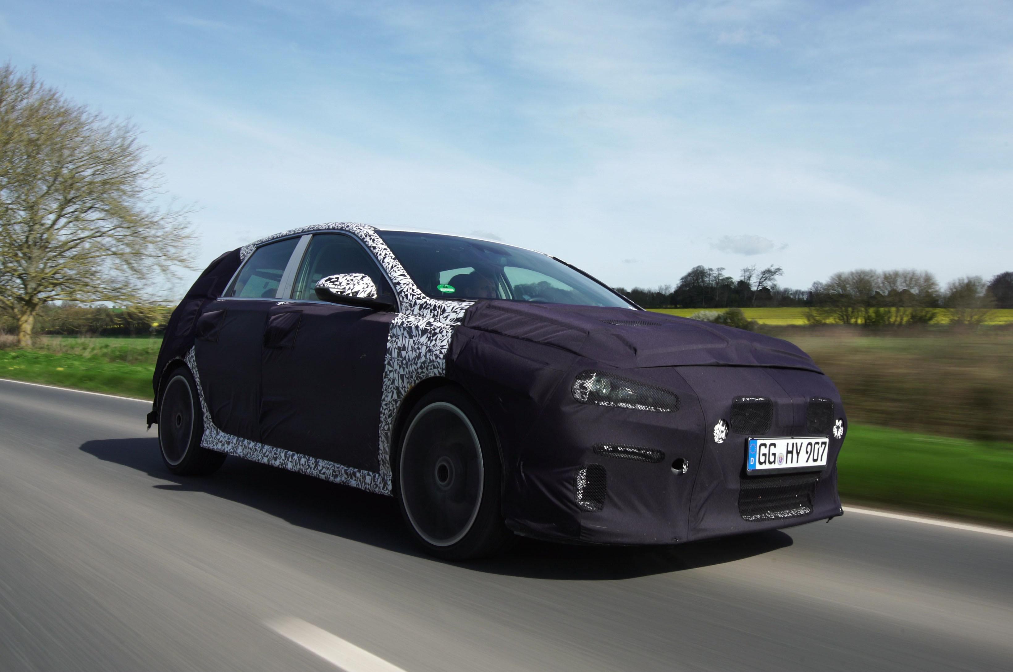 Hyundai I30 N UK Road Testing
