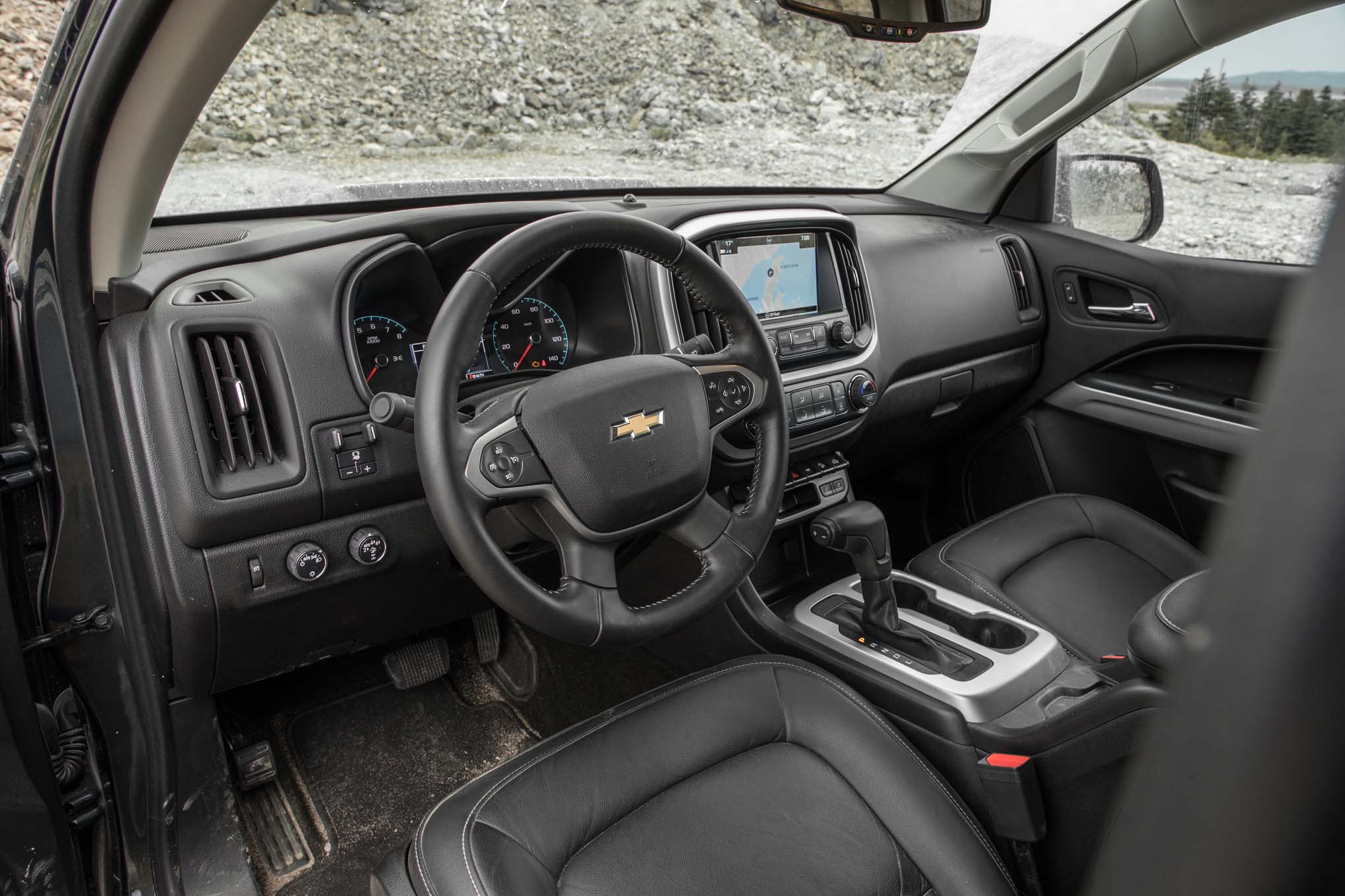 Tlh 2017 Chevrolet Colorado Zr2 4x4 V6 Interior Motor