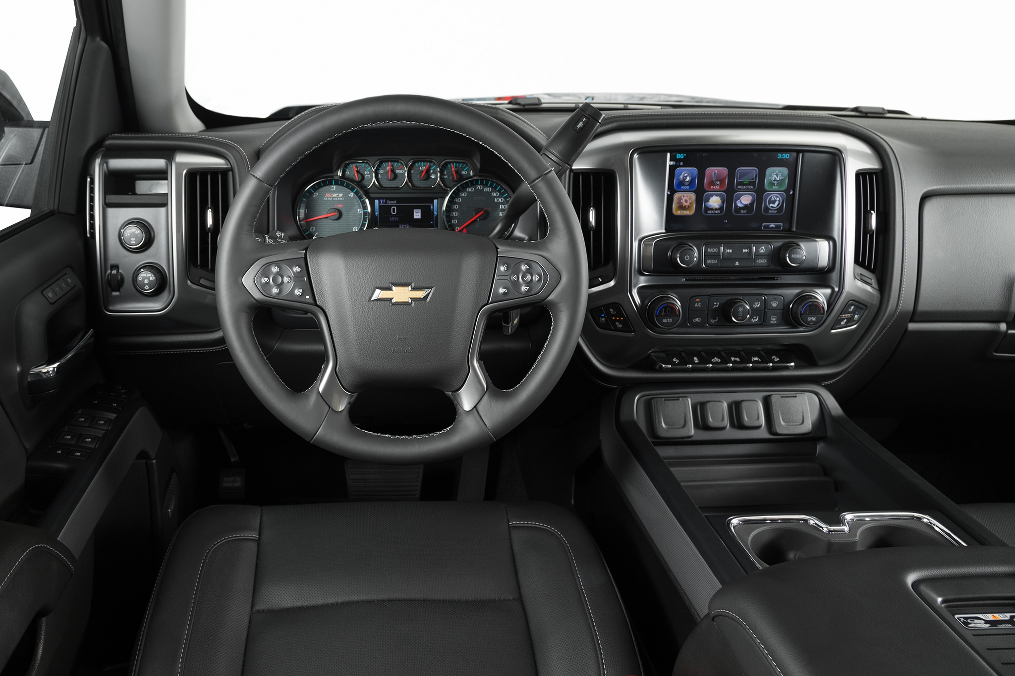 2017 chevrolet silverado 1500 z71 dashboard motor trend en espa ol. Black Bedroom Furniture Sets. Home Design Ideas