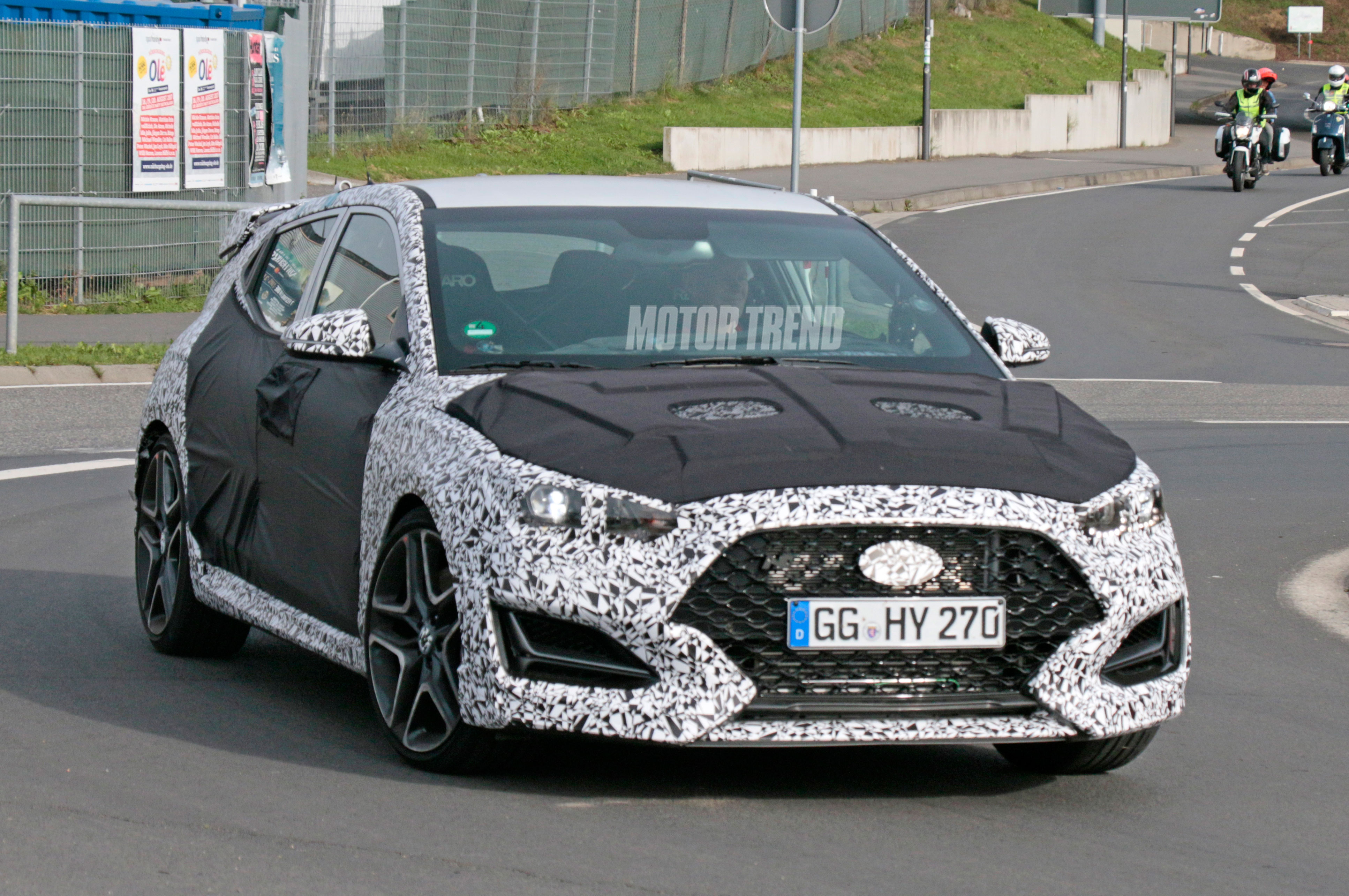 Hyundai Veloster N Front In Motion 3
