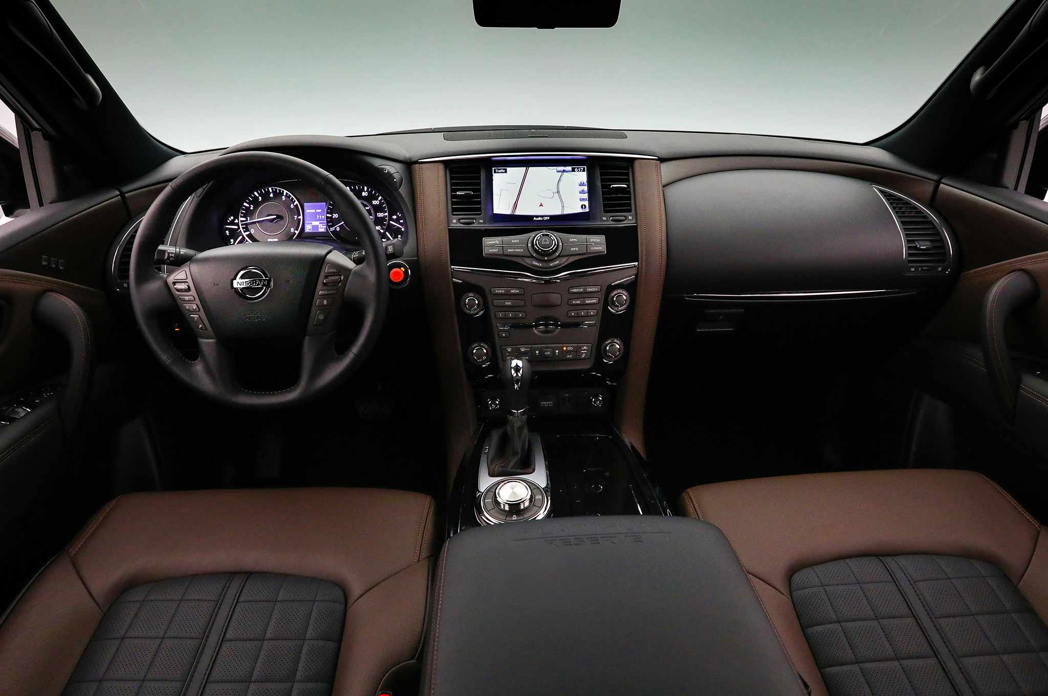 2018 Nissan Armada Platinum Reserve interior 01 - Motor ...