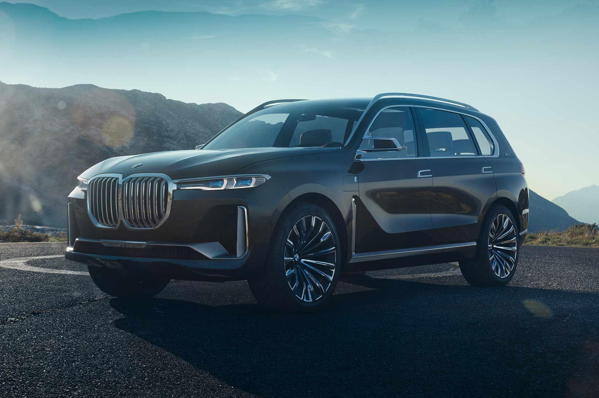BMW Concept X7 IPerformance Front Three Quarter Crop