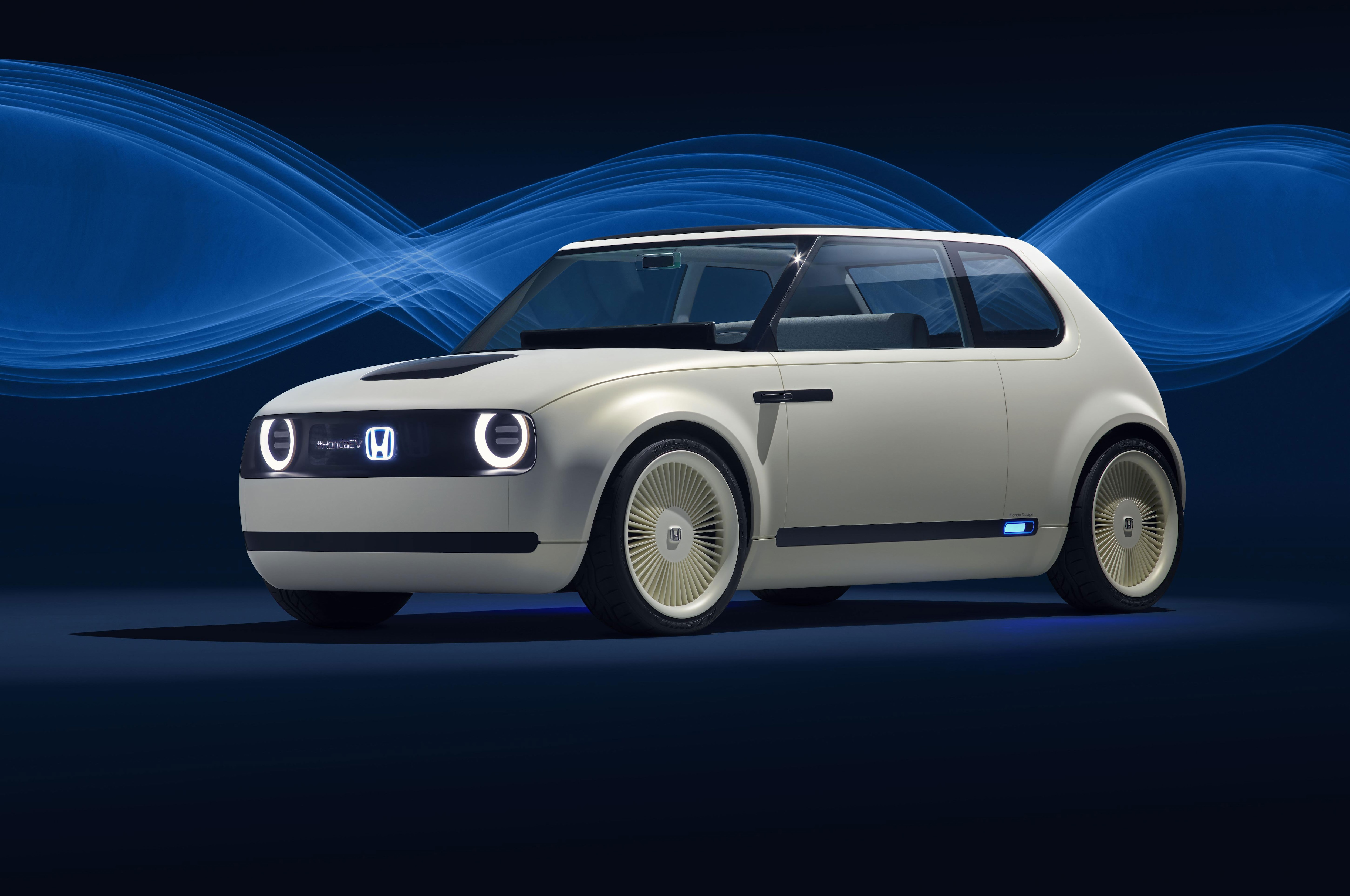 Honda Urban EV Concept Front Three Quarters 1