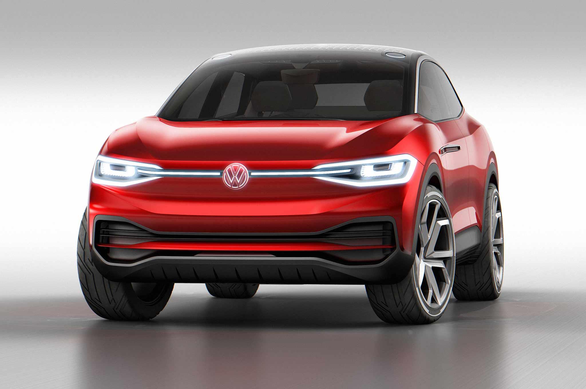 Volkswagen ID Crozz Concept At Frankfurt 2017 Front