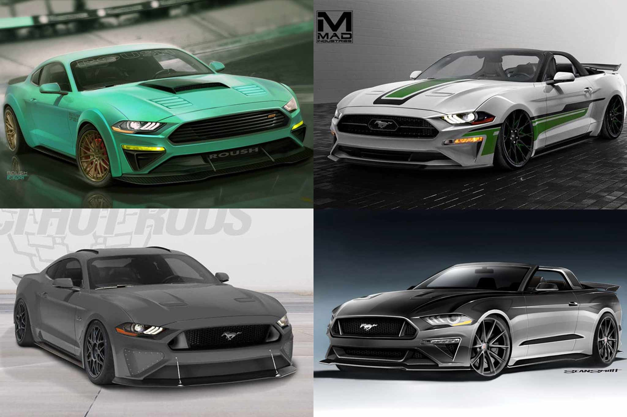 2017 SEMA Ford Mustang Show Cars
