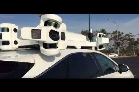 Lexus RX Rumored Apple Autonomous Car