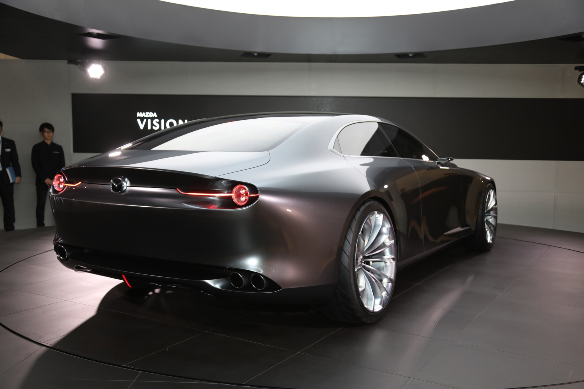 mazda vision coupe concept deslumbra en tokio motor trend en espa ol. Black Bedroom Furniture Sets. Home Design Ideas