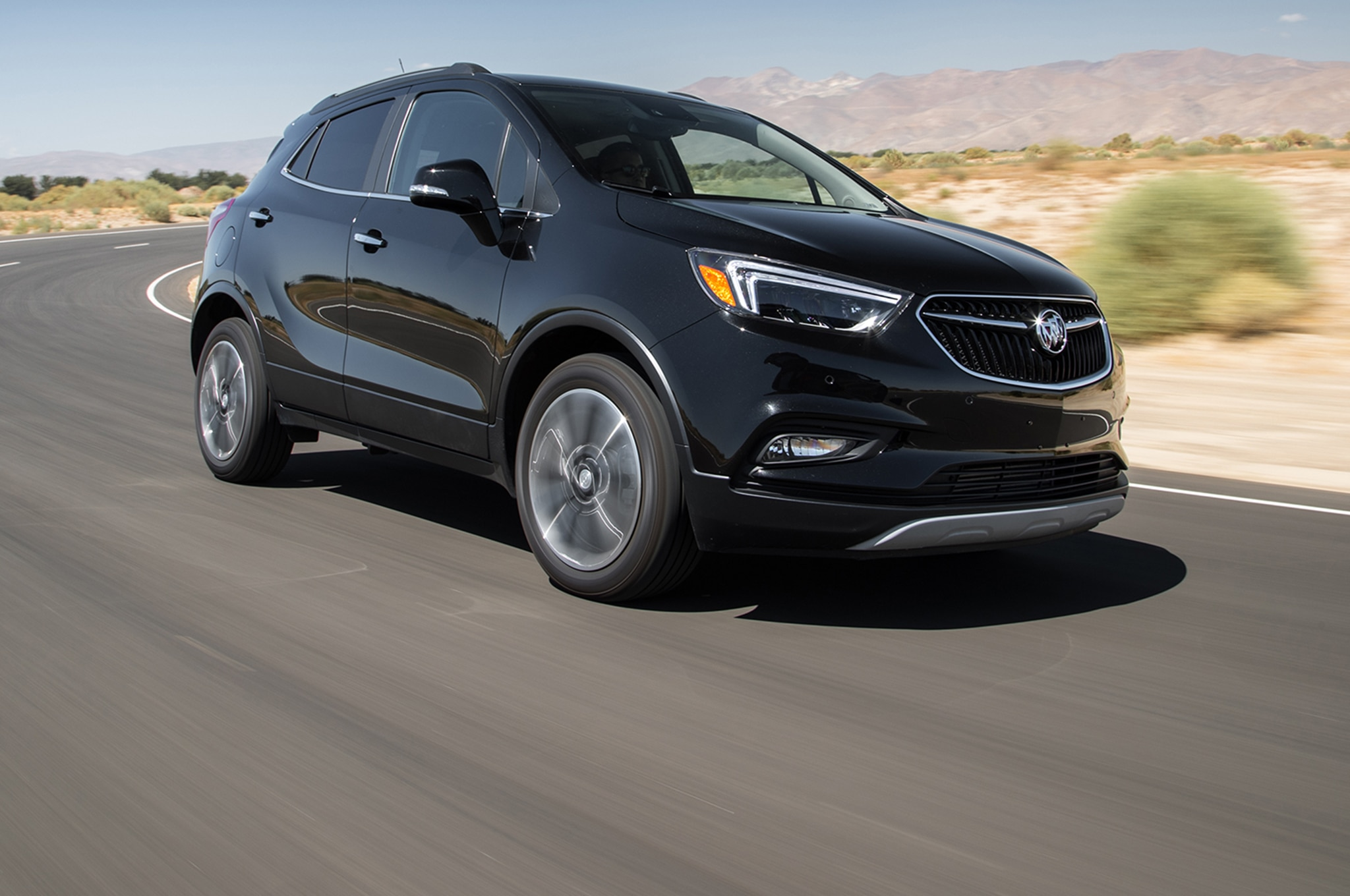 2017 Buick Encore AWD Front Three Quarter In Motion 01