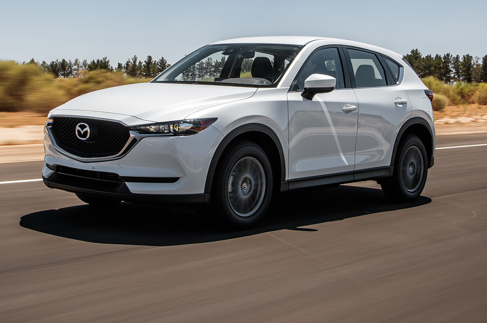 2017 Mazda CX 5 AWD Front Three Quarter In Motion 00