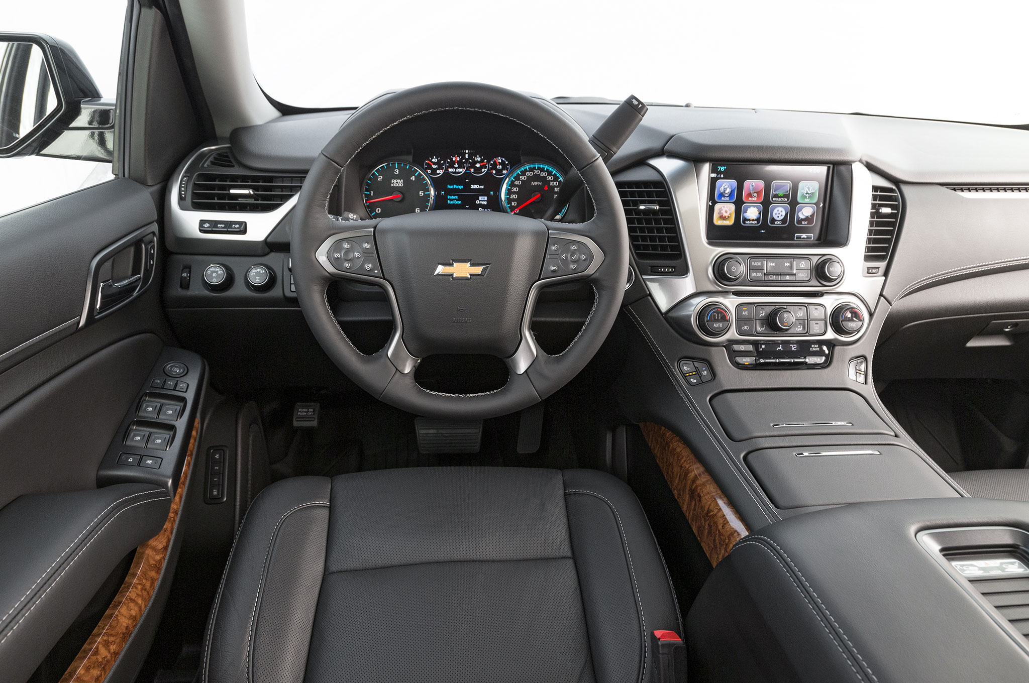 2018 Chevrolet Tahoe Rst Performance Package Interior