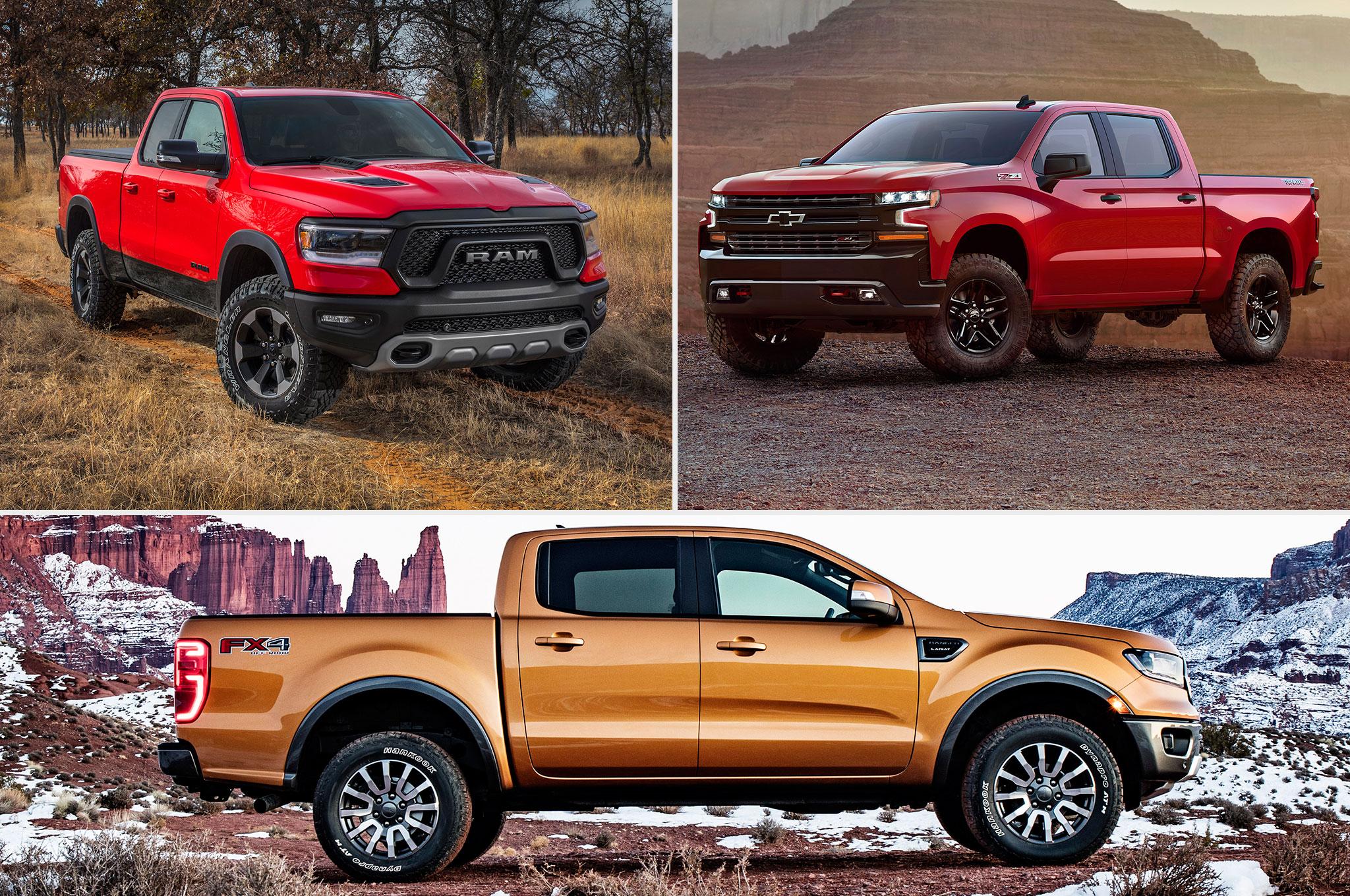 2018 Detroit Auto Show Trucks Graphic