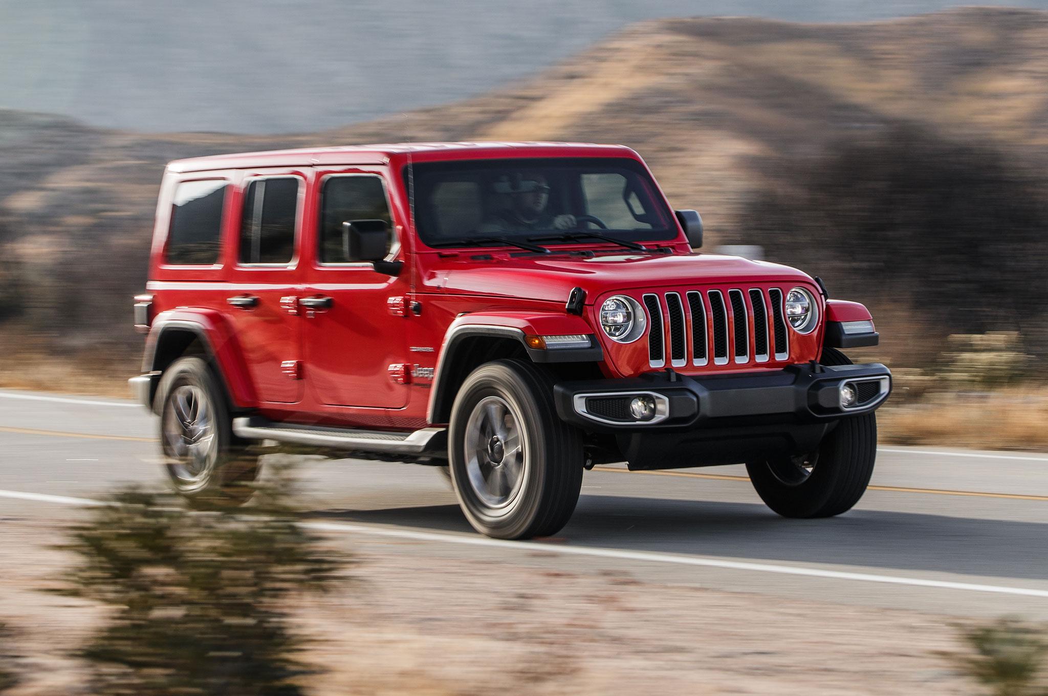Jeep Wrangler Unlimited Sahara 2018 Primera Prueba Motor Trend En Espanol