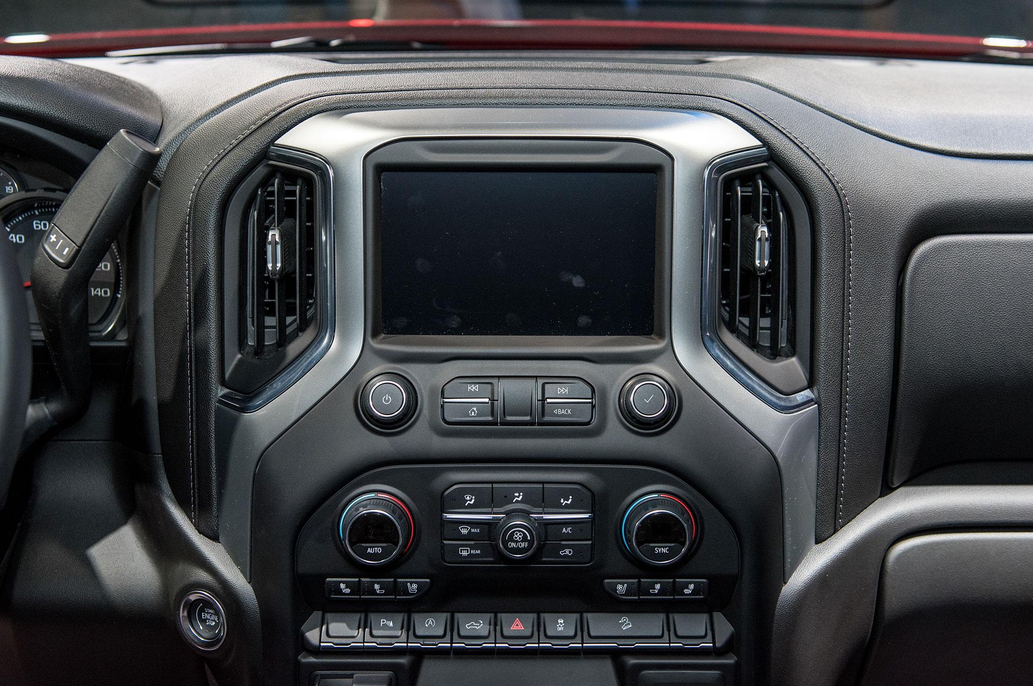 2019 Chevrolet Silverado 1500 LT Trail Boss interior ...