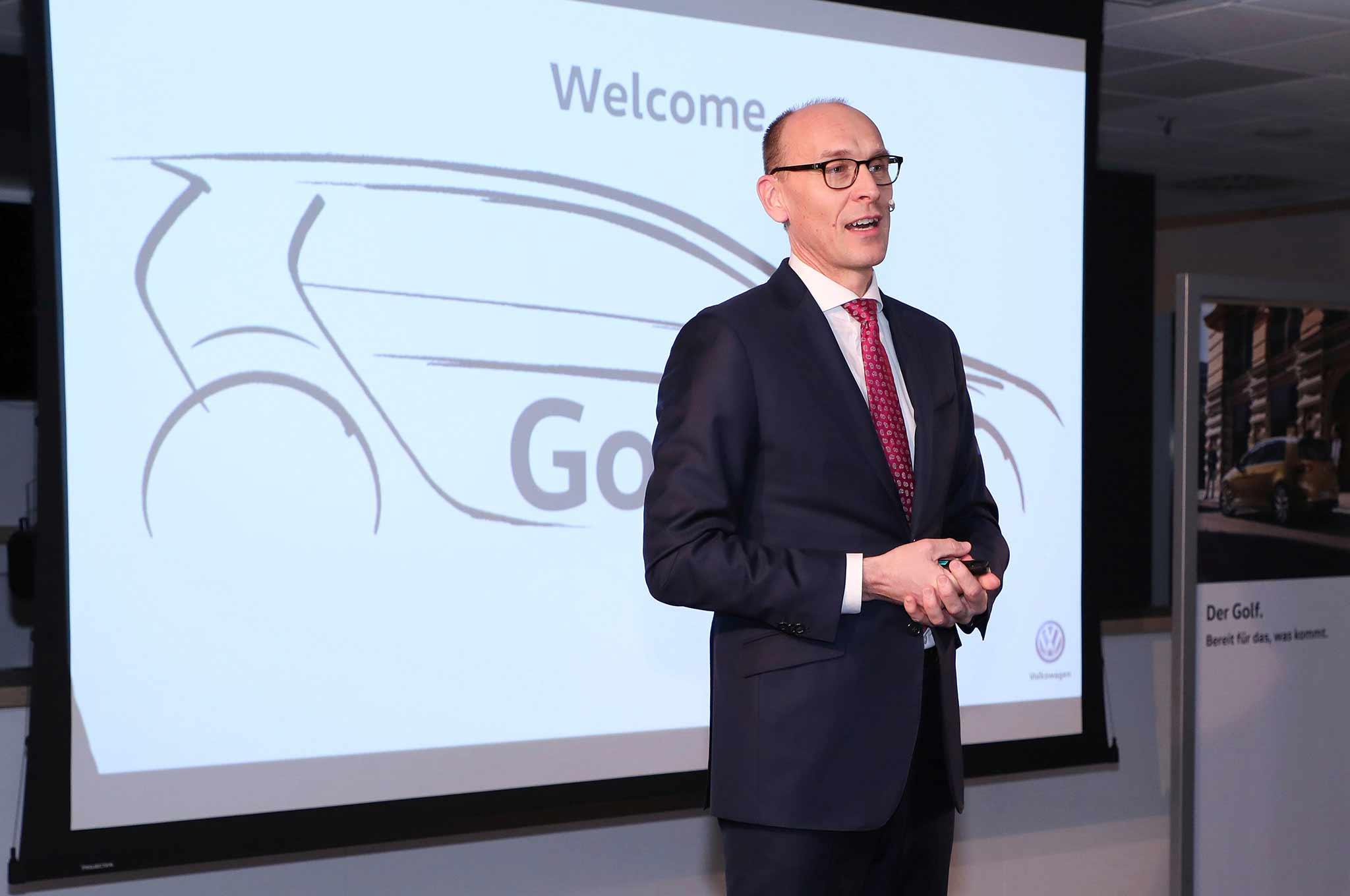 Volkswagen Golf 8 Supplier Summit