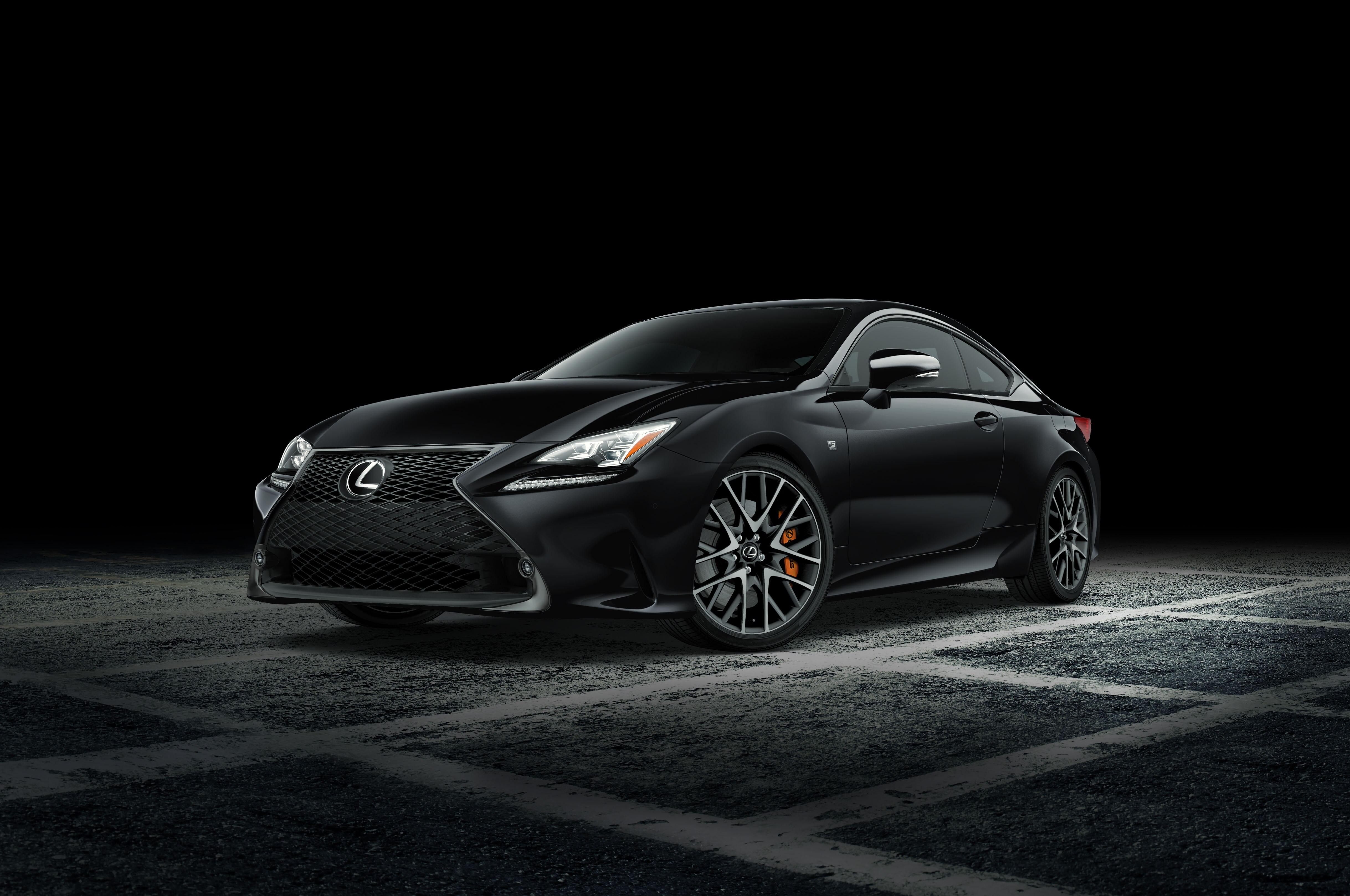 2018 Lexus RC F Sport Black Line Special Edition