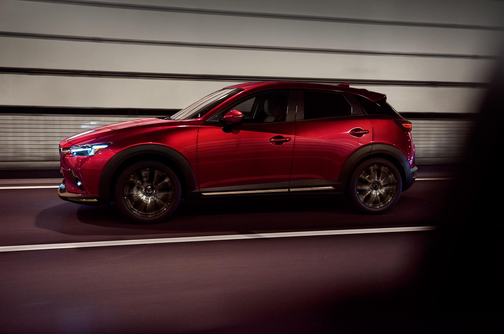 2019 Mazda CX 3 Side In Motion