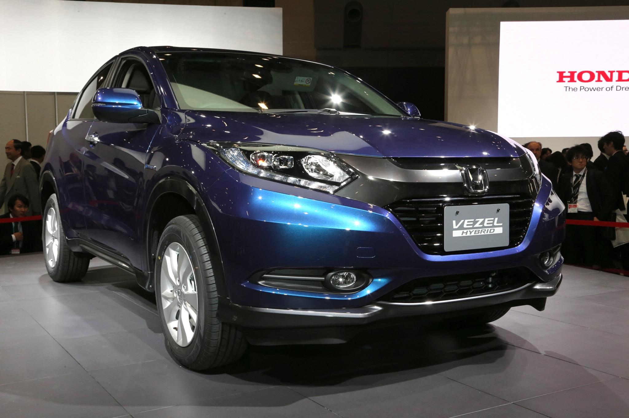Honda Vezel Hybrid Front Three Quarters