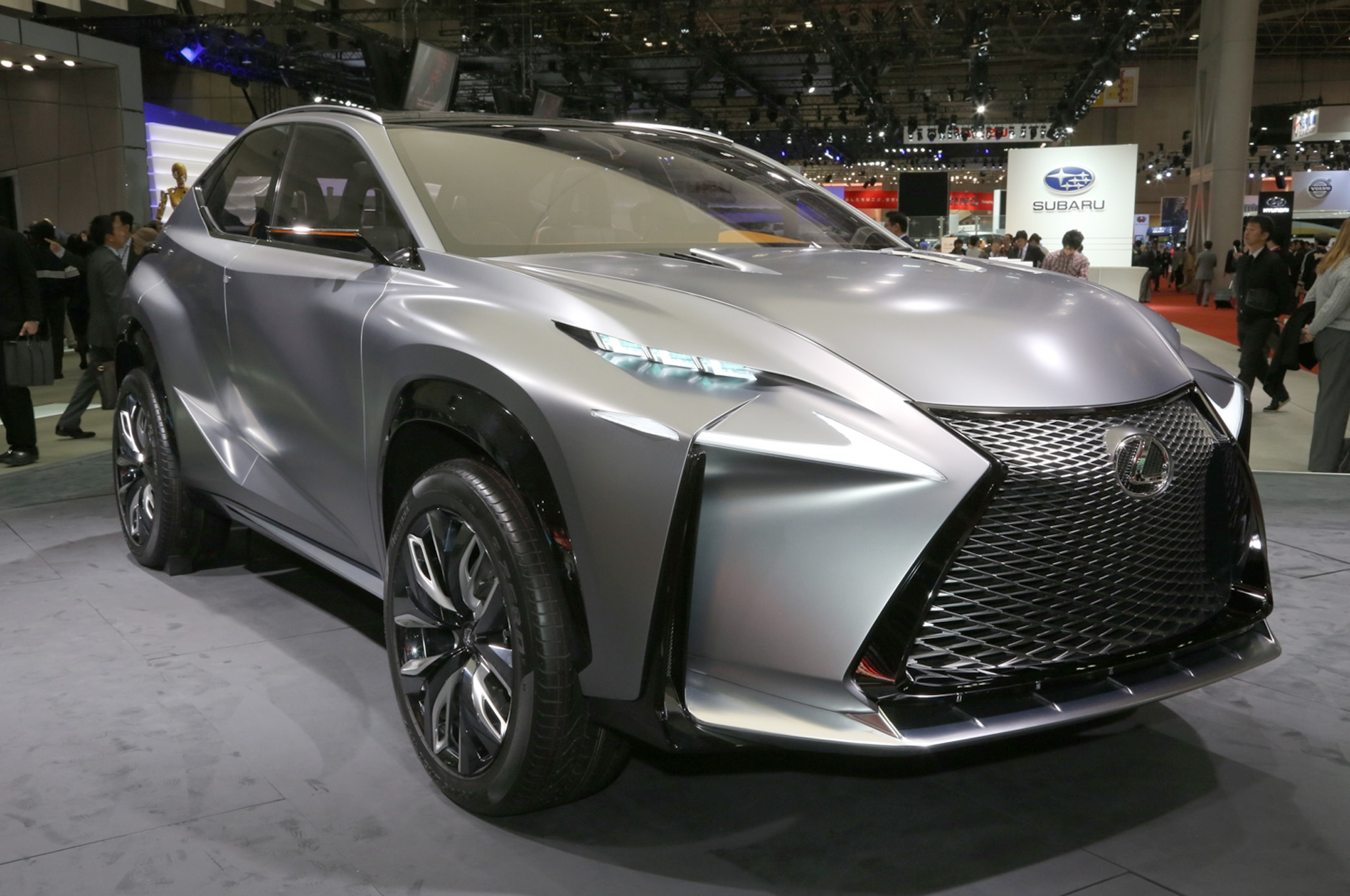 Lexus LF NX Turbo Concept Front Three Quarters