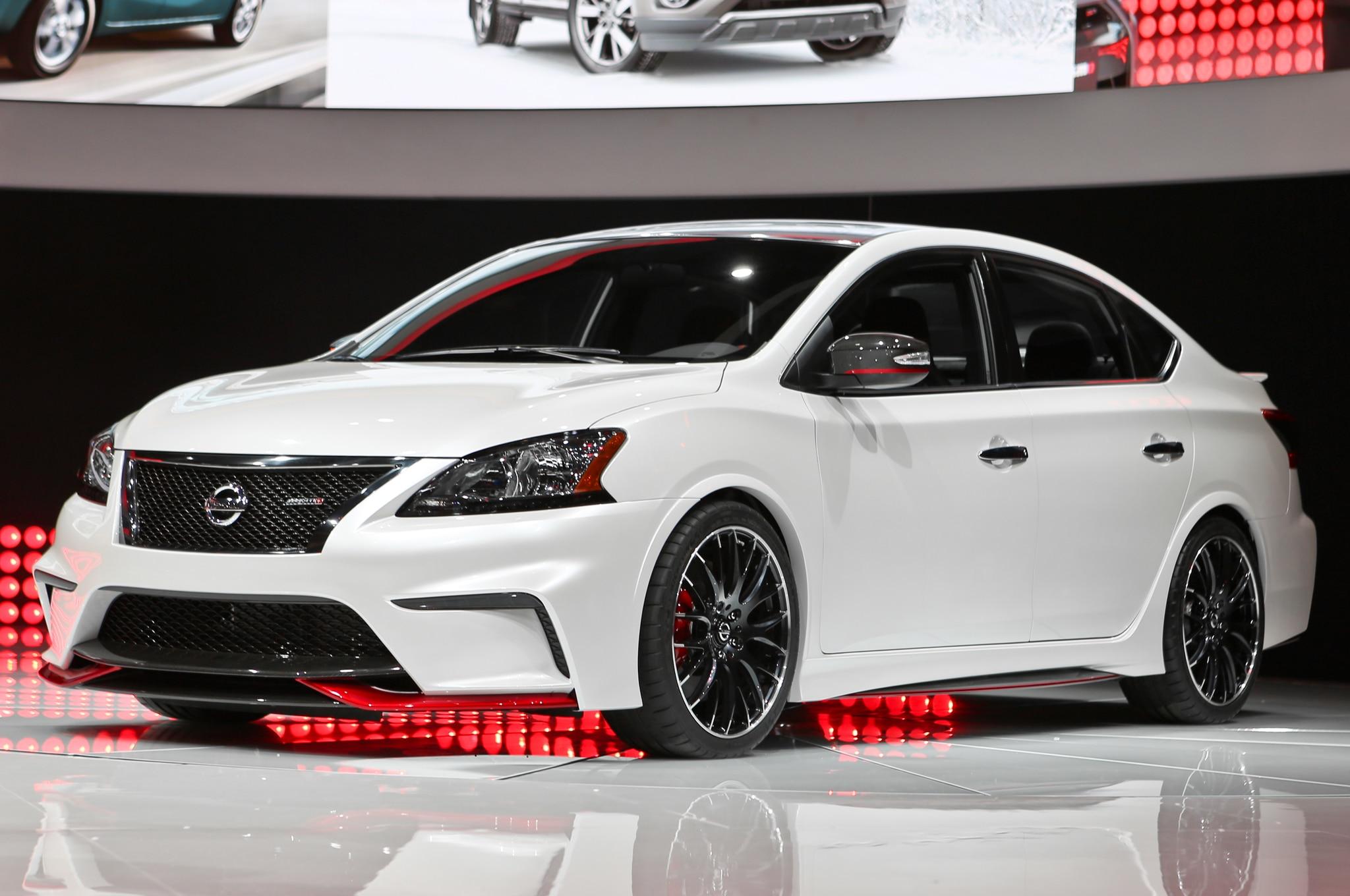 El concepto del Nissan Sentra Nismo hace su debut con un ...