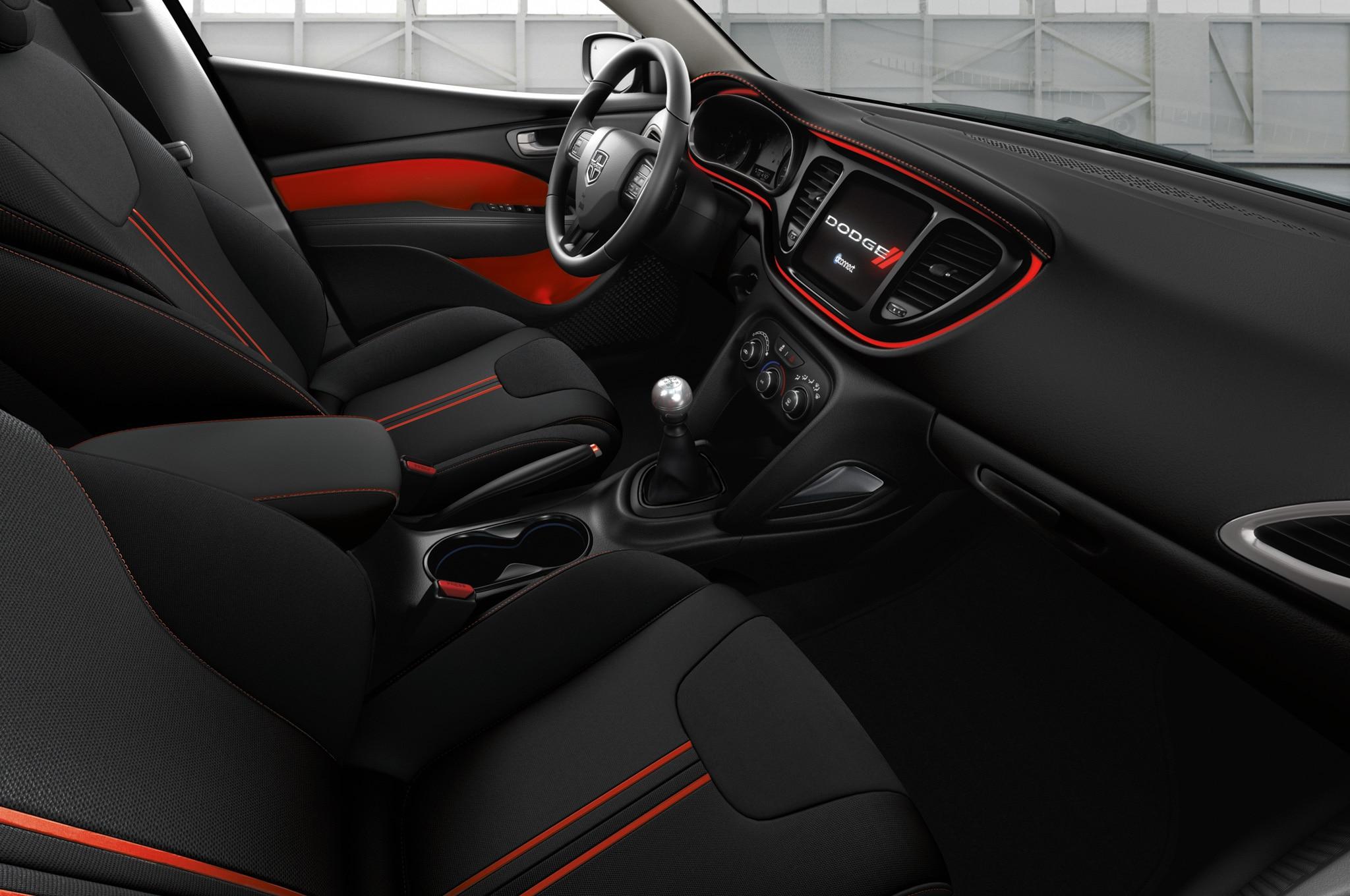 Dodge Dart Sxt >> Dodge Dart con Blacktop, listo para debutar en Detroit - Autos Terra Motor Trend