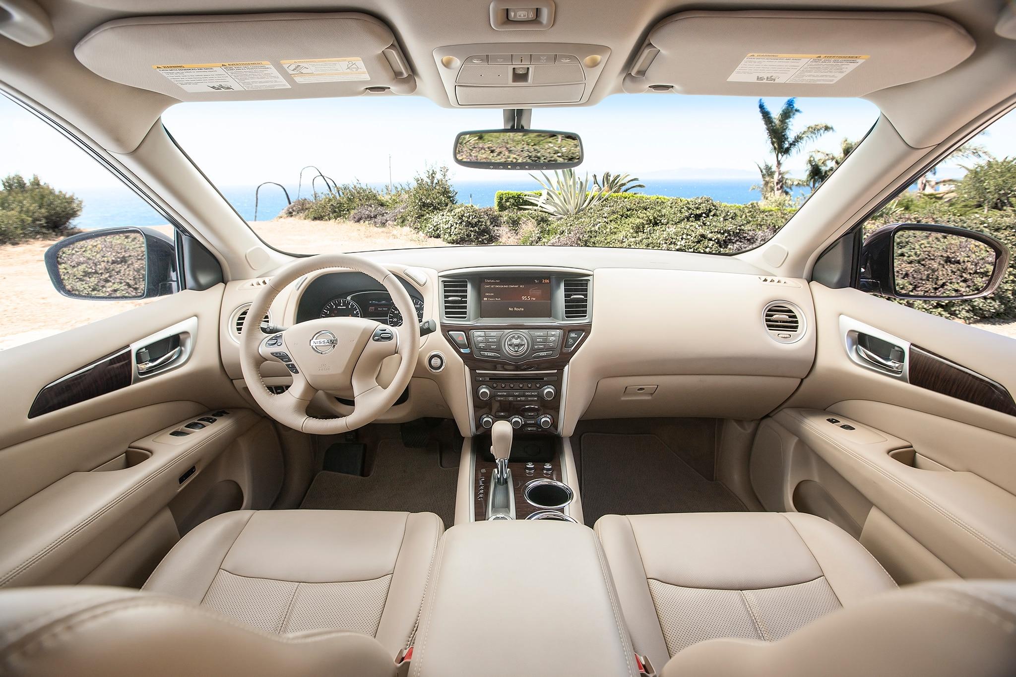 Nissan Pathfinder 2013 Prueba A Largo Plazo Autos Terra