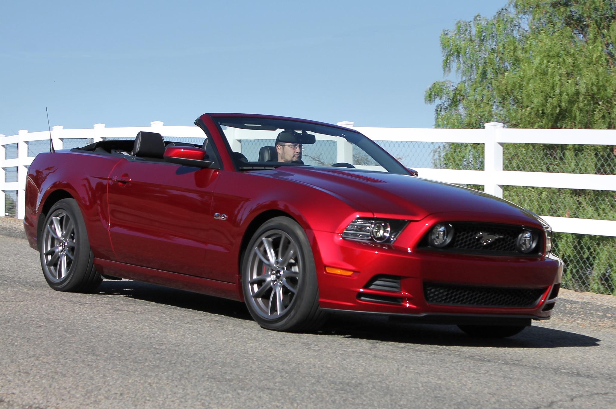 Ford Mustang convertible 2014: Primera Prueba - Autos ...