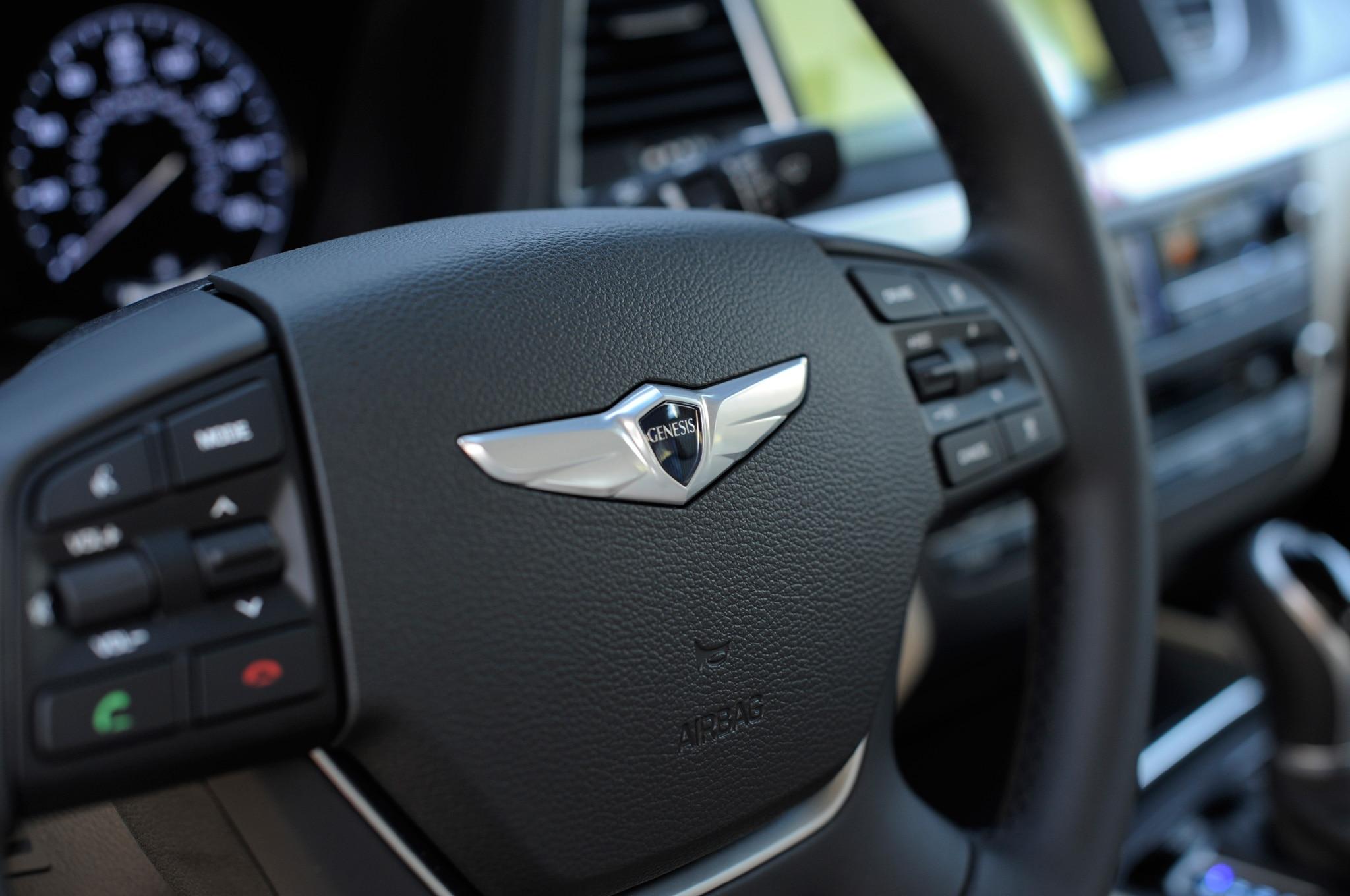 Genesis Sedan Interior