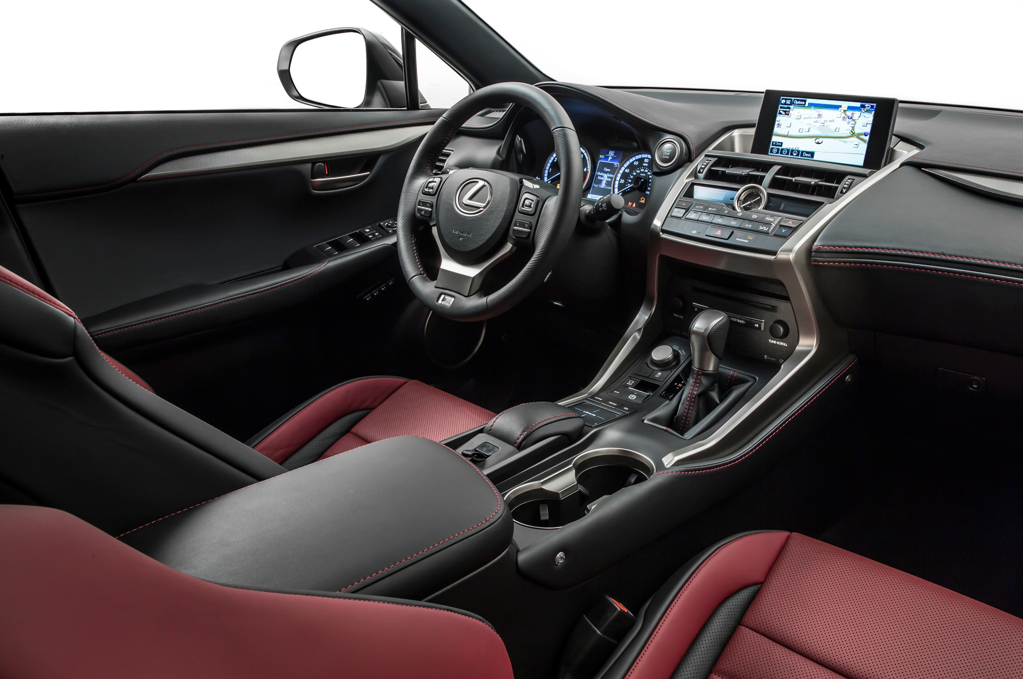 2015 Lexus Nx 200t F Sport Interior Motor Trend En Espanol
