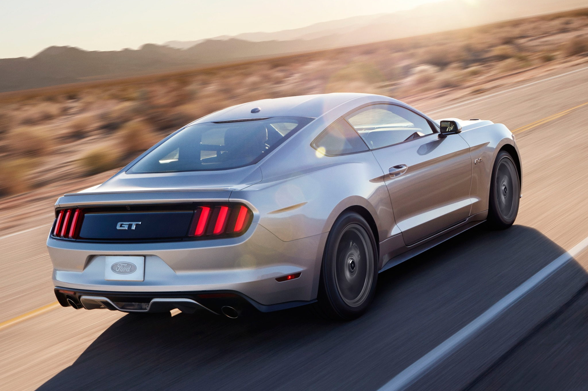 2015 Ford Mustang Rear Three Quarter